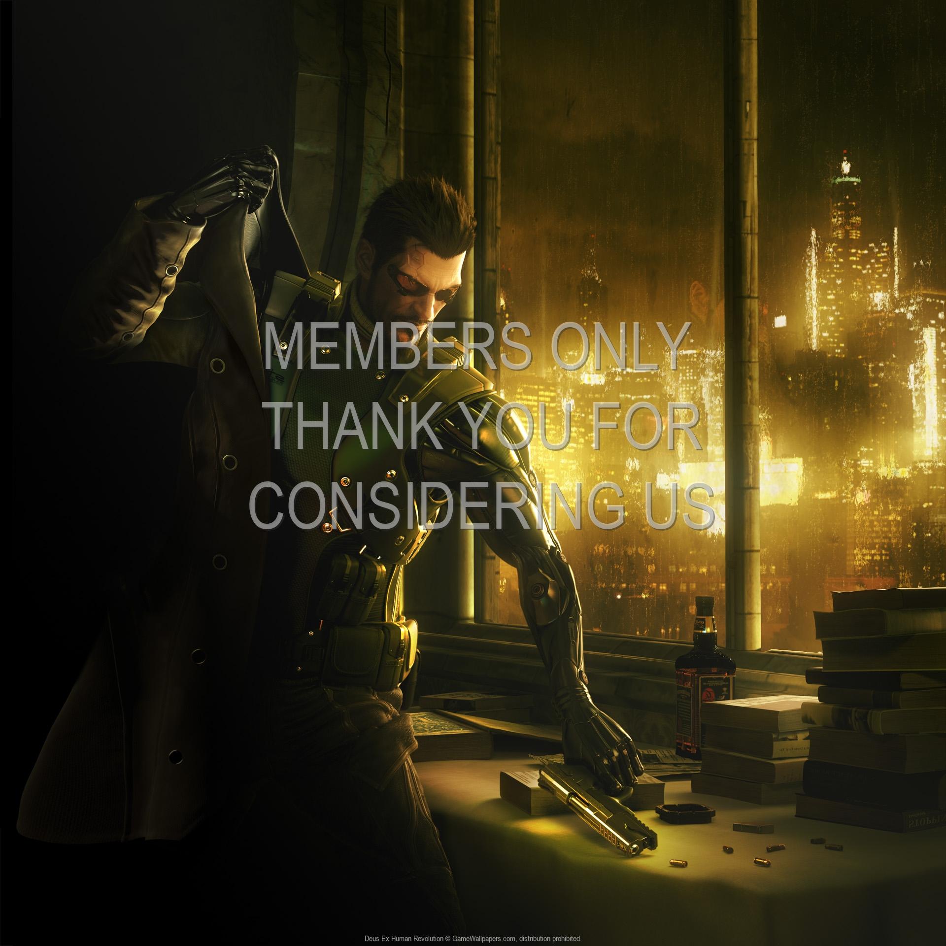 Deus Ex: Human Revolution 1920x1080 Handy Hintergrundbild 05