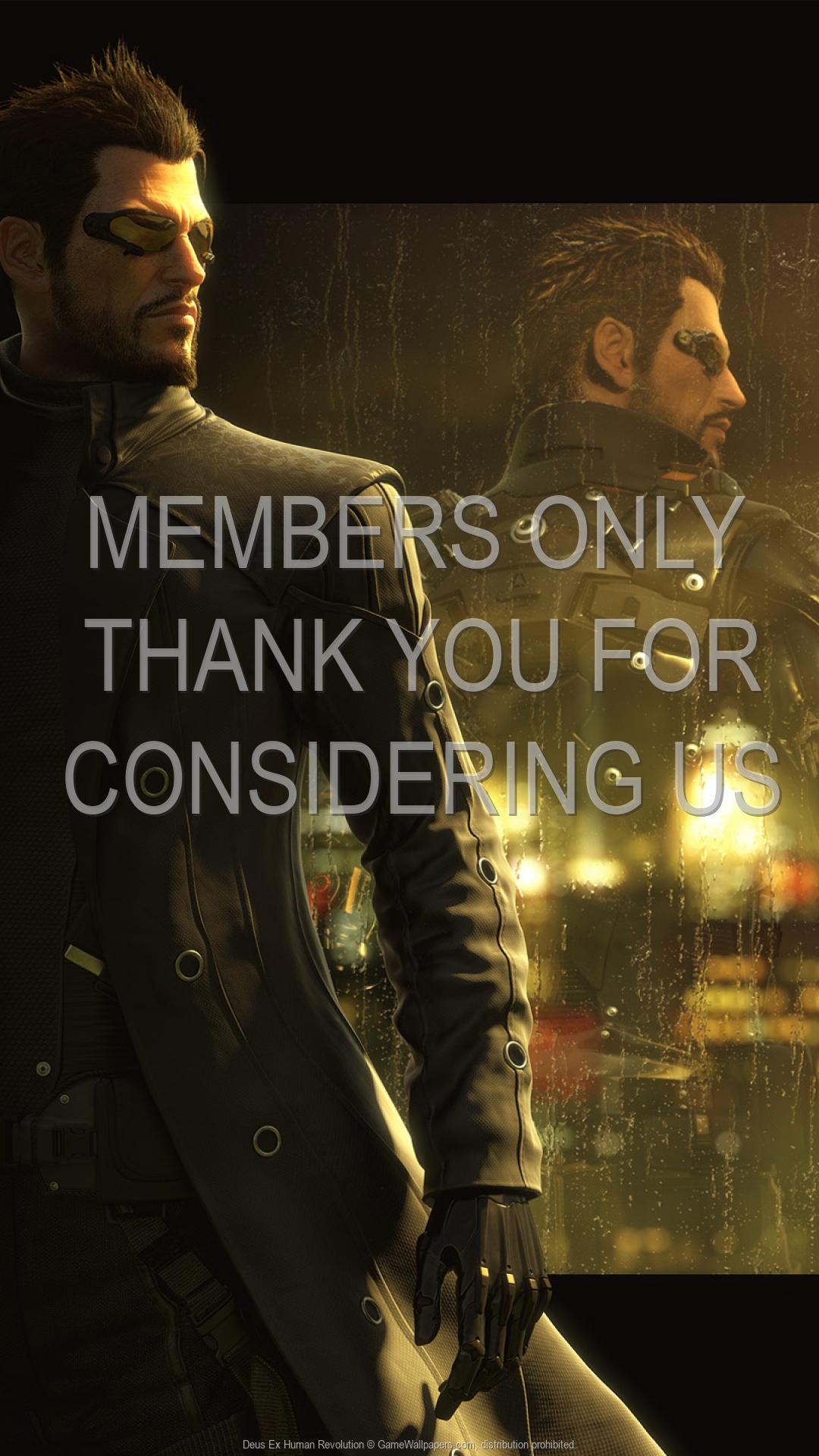 Deus Ex: Human Revolution 1920x1080 Handy Hintergrundbild 06