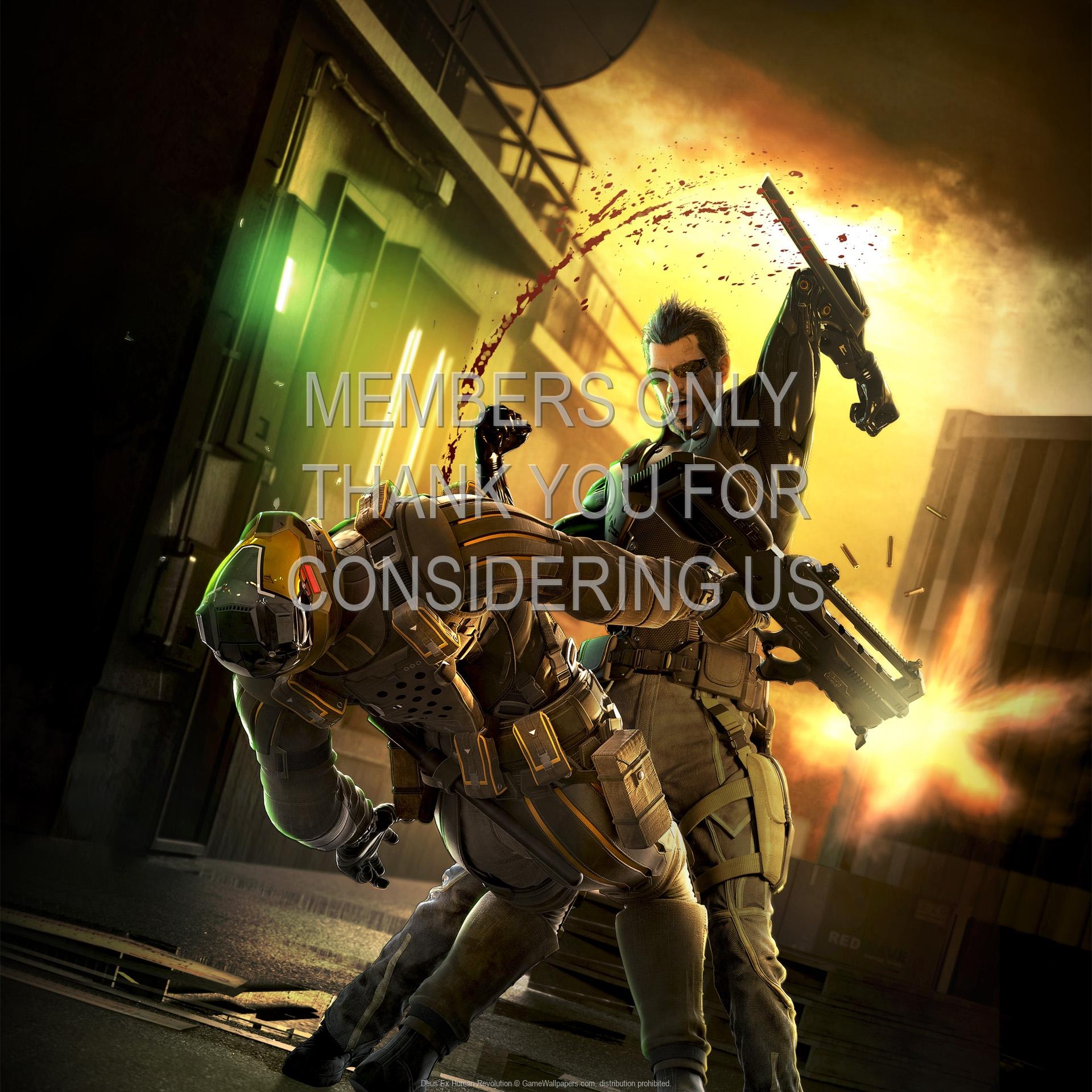 Deus Ex: Human Revolution 1920x1080 Handy Hintergrundbild 11