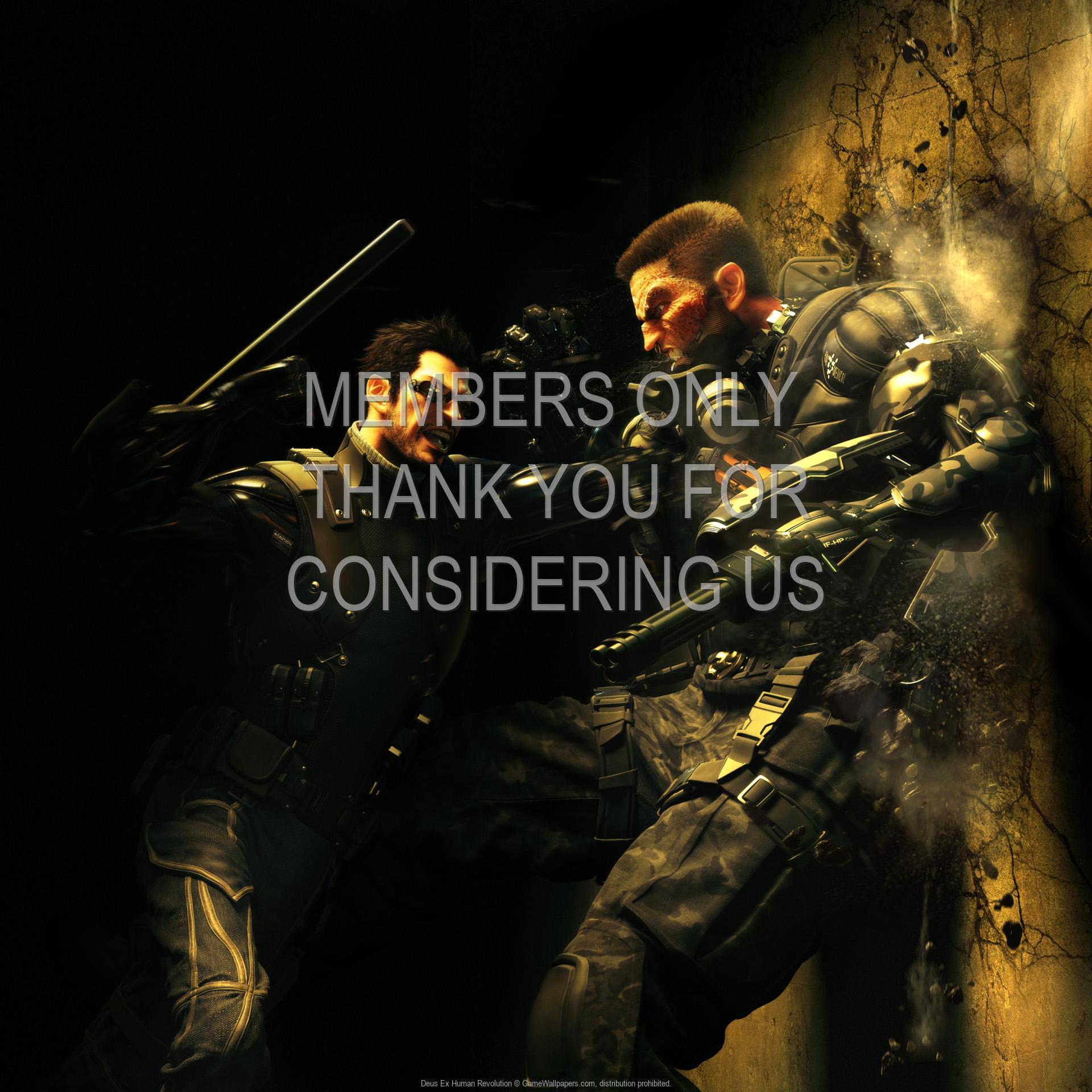 Deus Ex: Human Revolution 1920x1080 Handy Hintergrundbild 13
