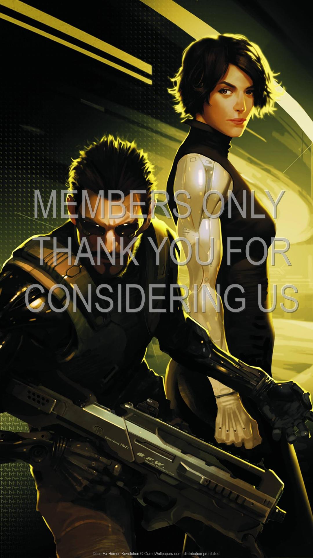 Deus Ex: Human Revolution 1920x1080 Handy Hintergrundbild 14