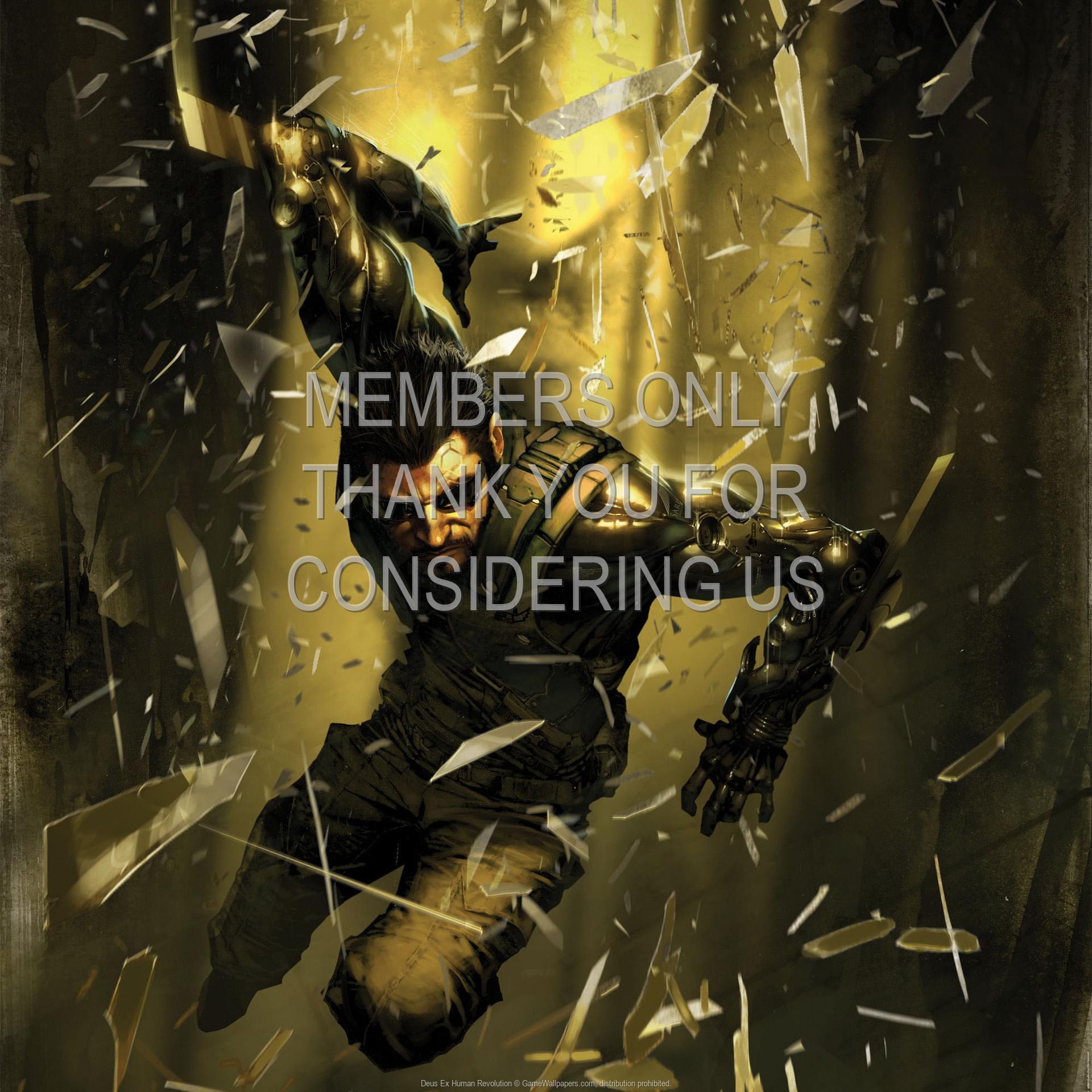 Deus Ex: Human Revolution 1920x1080 Handy Hintergrundbild 15