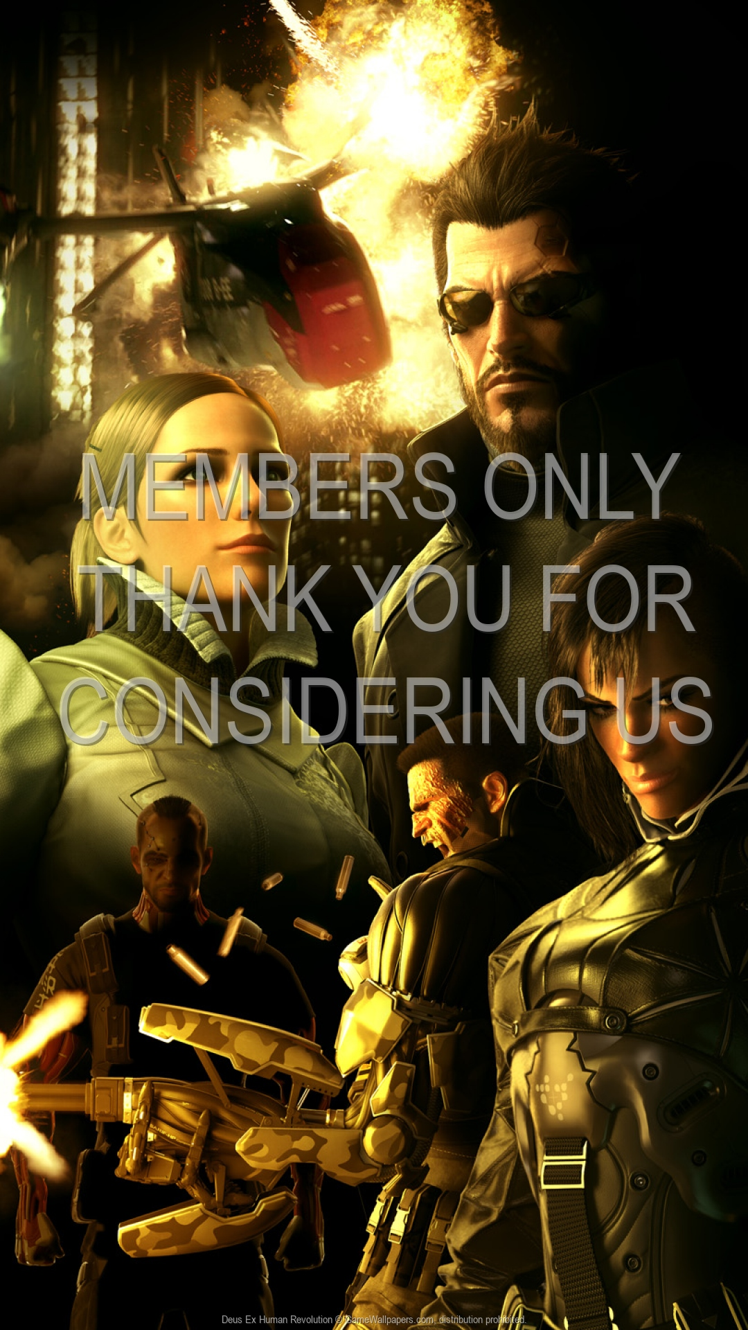 Deus Ex: Human Revolution 1920x1080 Handy Hintergrundbild 16