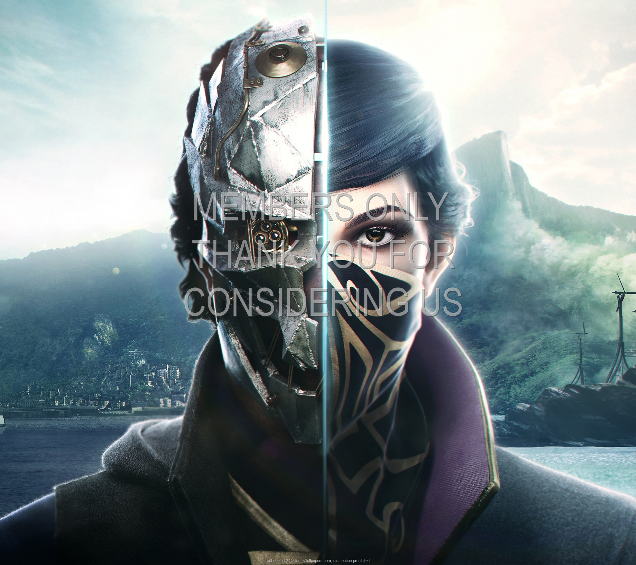 Dishonored 2 1920x1080 Mobile wallpaper or background 11
