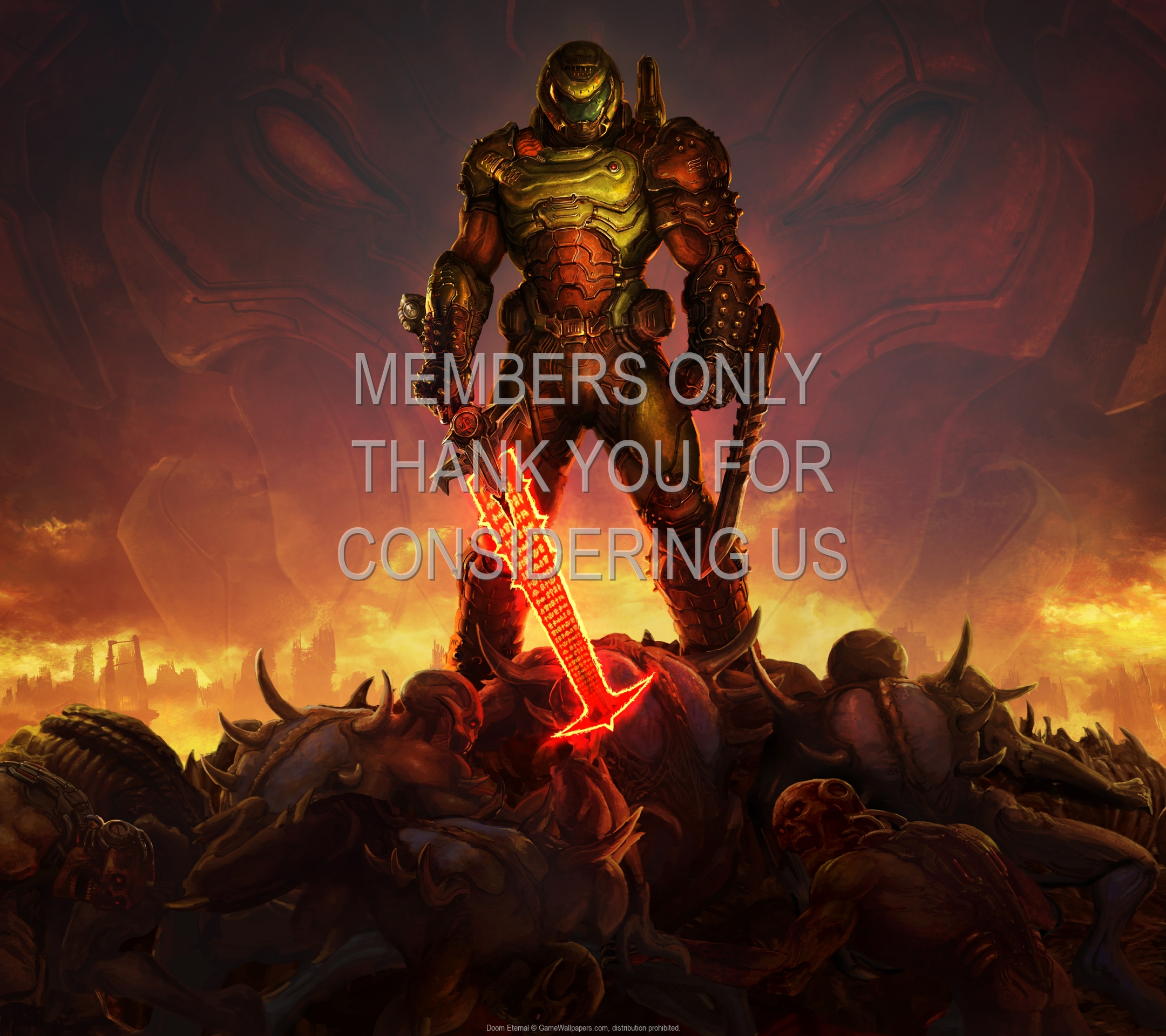 Doom Eternal 1920x1080 Mobile wallpaper or background 14