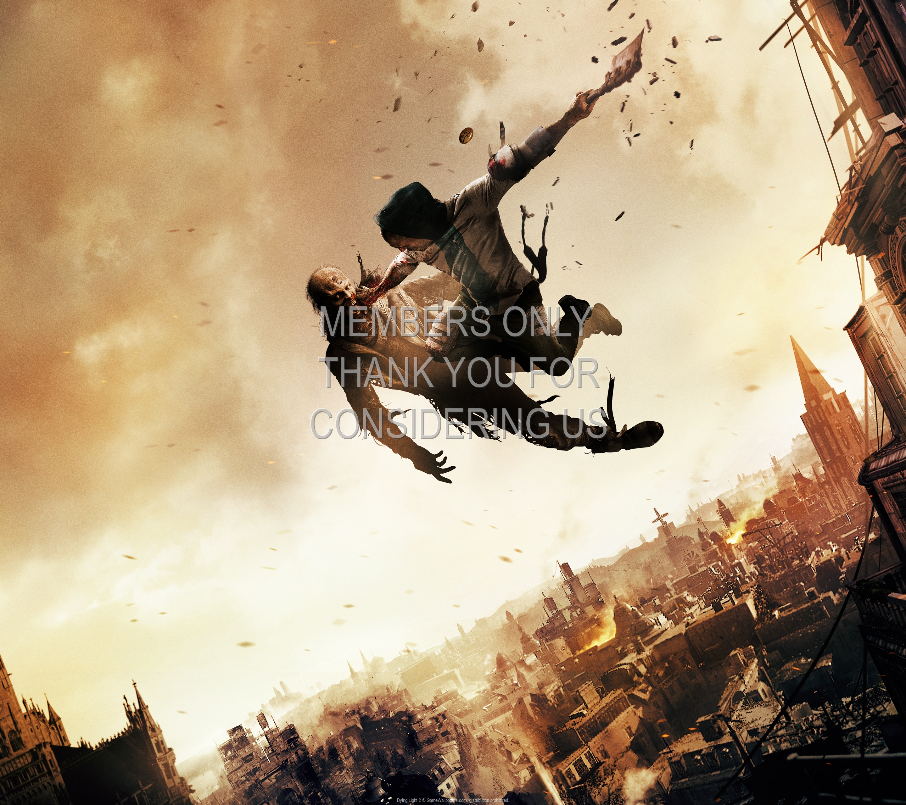Dying Light 2 1920x1080 Mobiele achtergrond 01