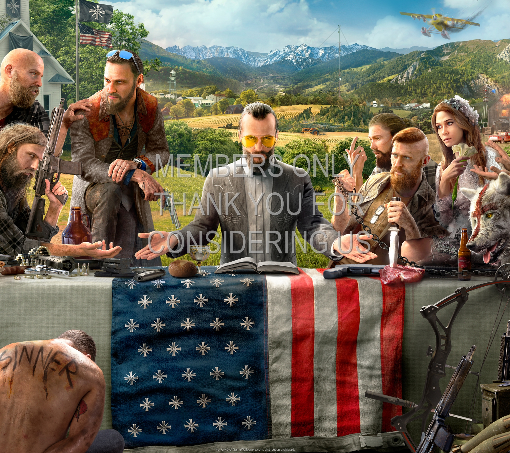 Far Cry 5 1920x1080 Mobile wallpaper or background 01