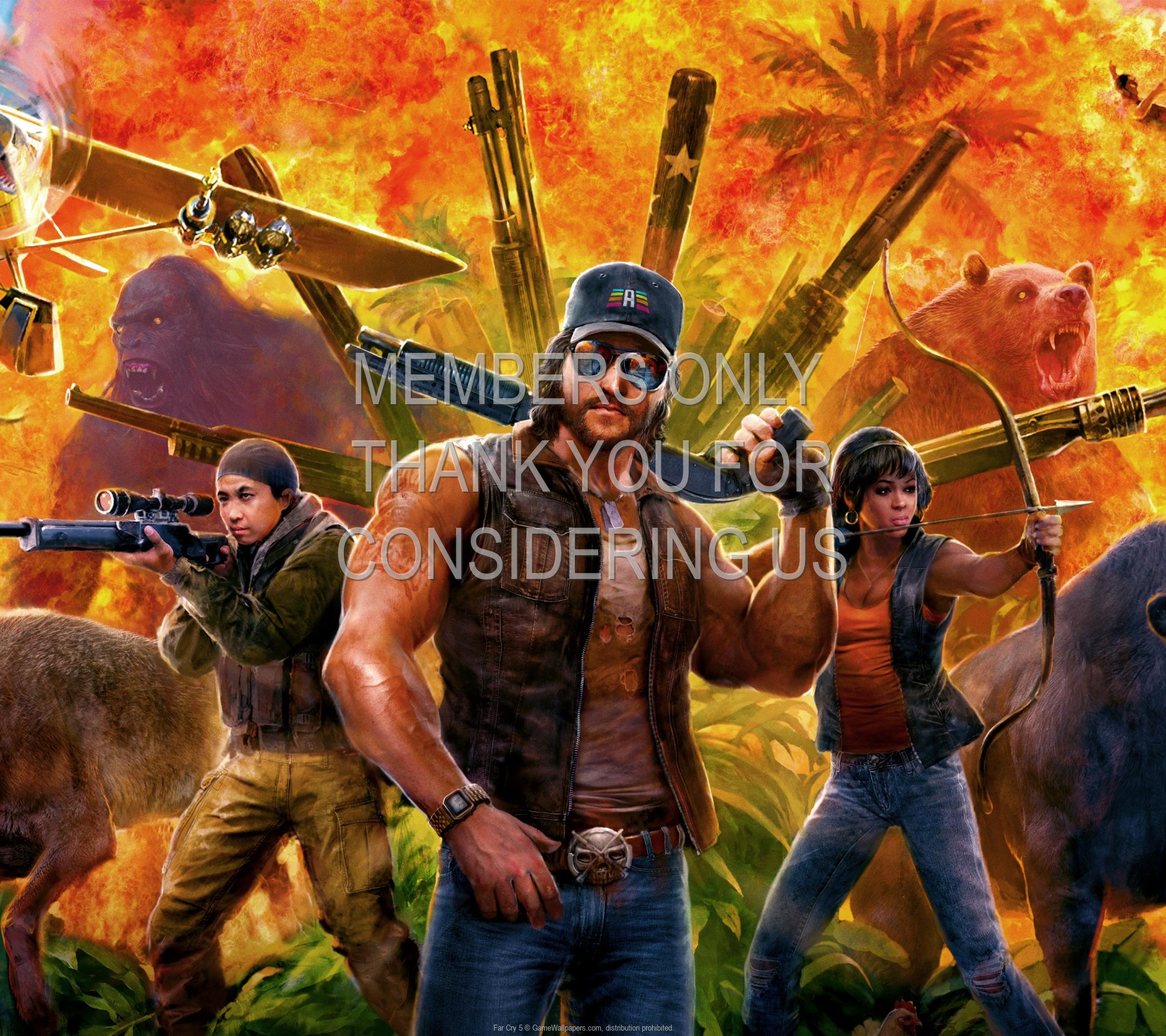 Far Cry 5 1920x1080 Mobile fond d'écran 09
