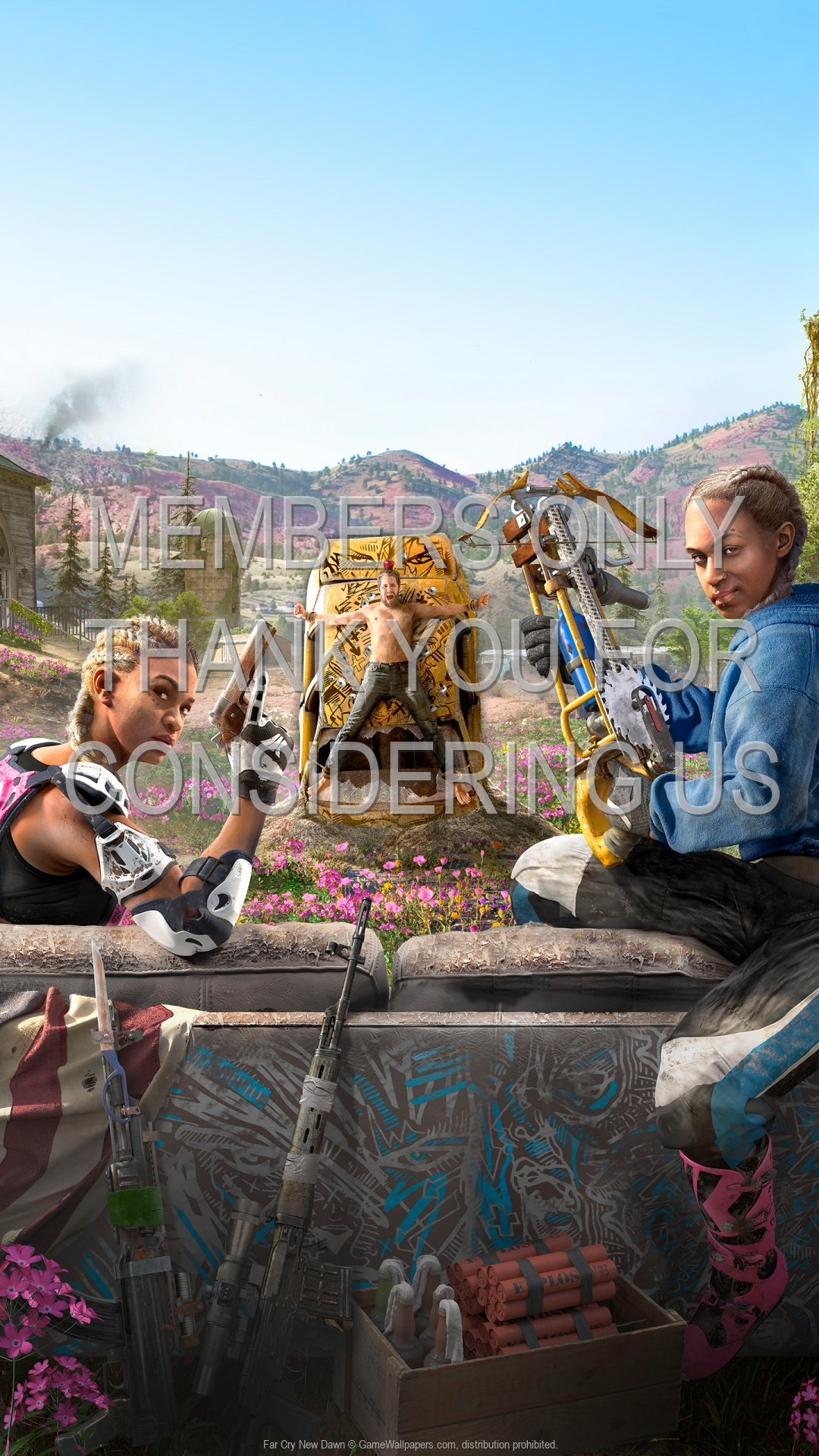 Far Cry New Dawn 1920x1080 Mobile wallpaper or background 02