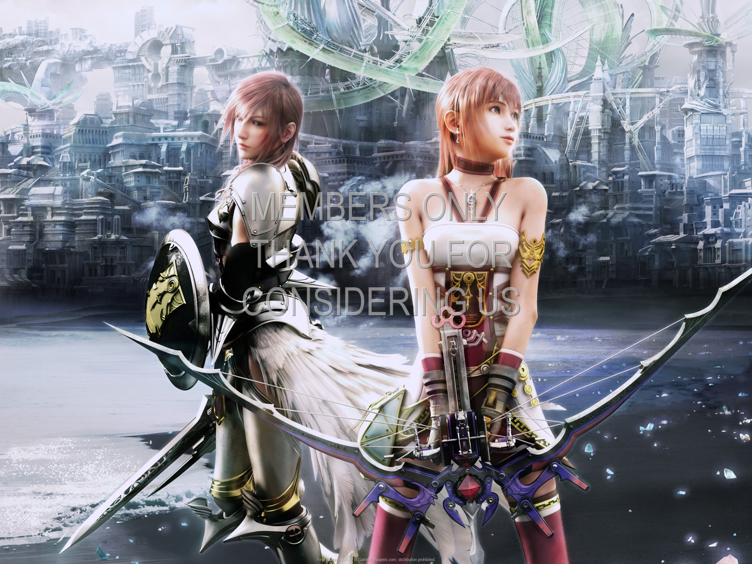 Final Fantasy XIII - 2 1920x1080 Mobile wallpaper or background 01