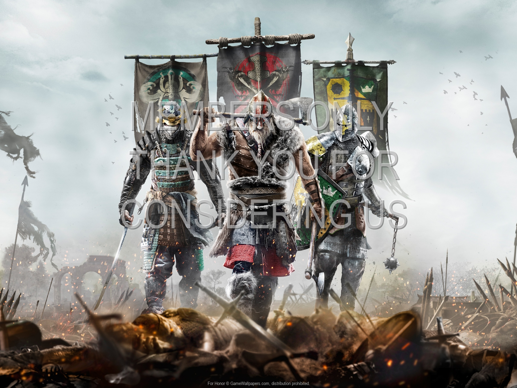 For Honor 1920x1080 Mobile fond d'écran 01