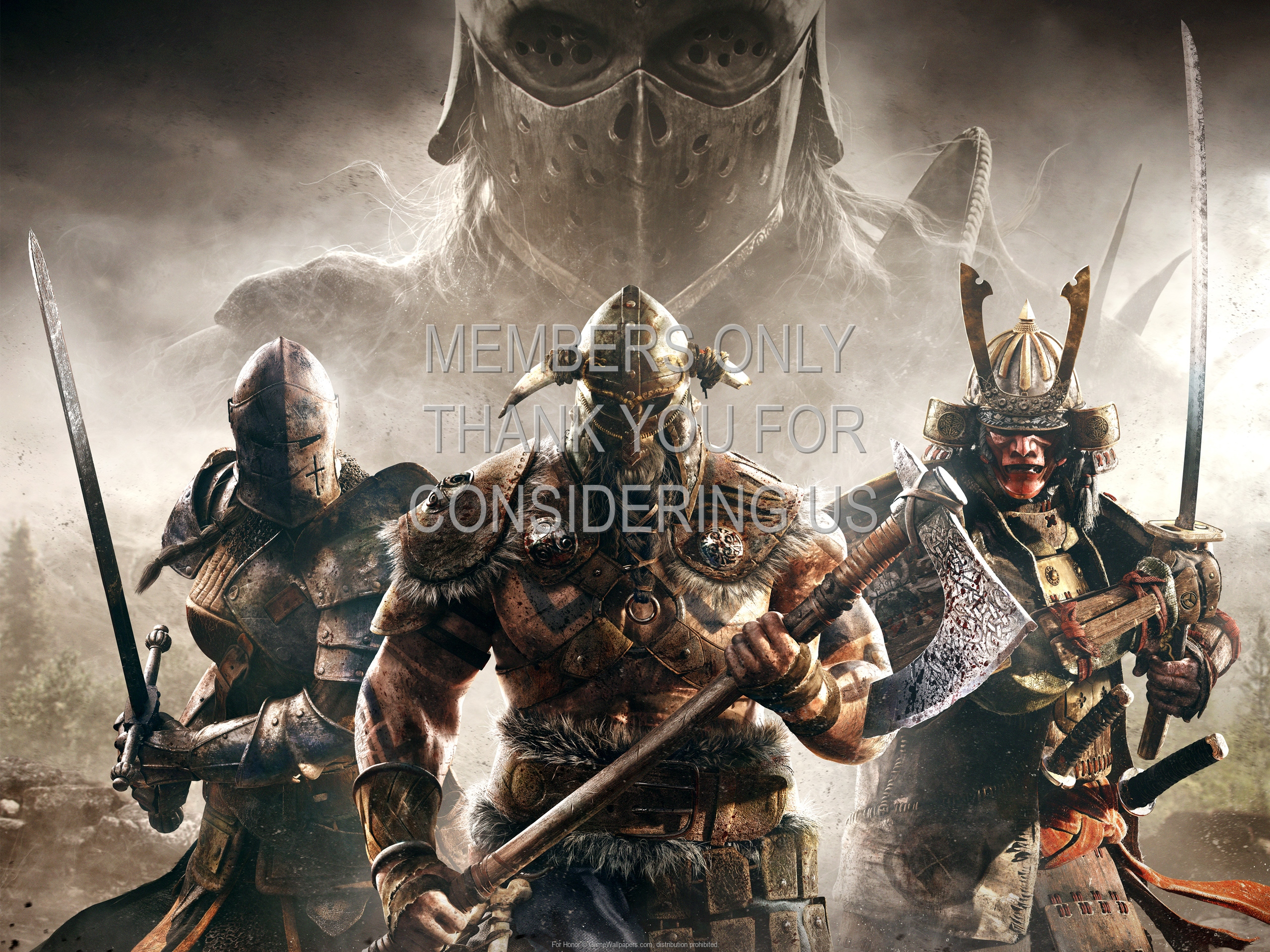 For Honor 1920x1080 Mobiele achtergrond 04