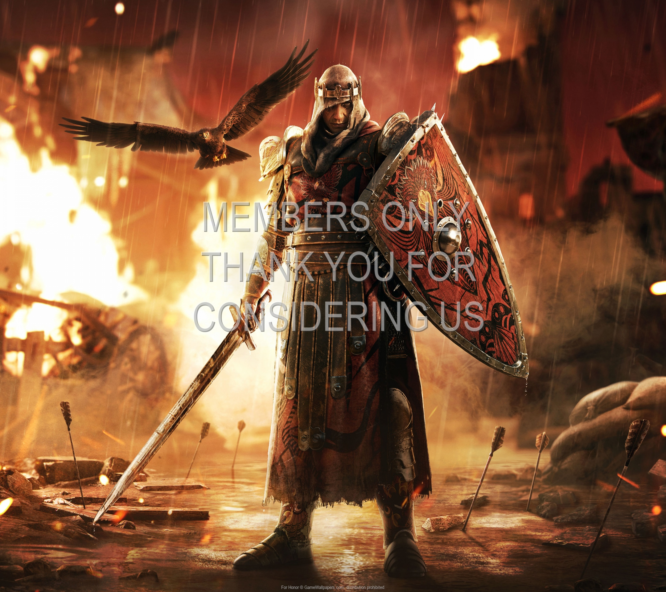 For Honor 1920x1080 Mobiele achtergrond 21