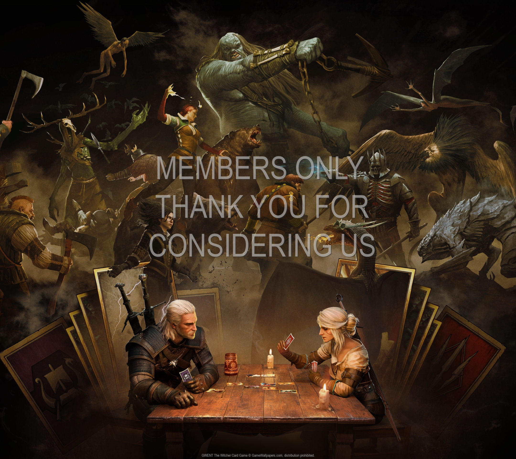 GWENT: The Witcher Card Game 1920x1080 Mobiele achtergrond 07