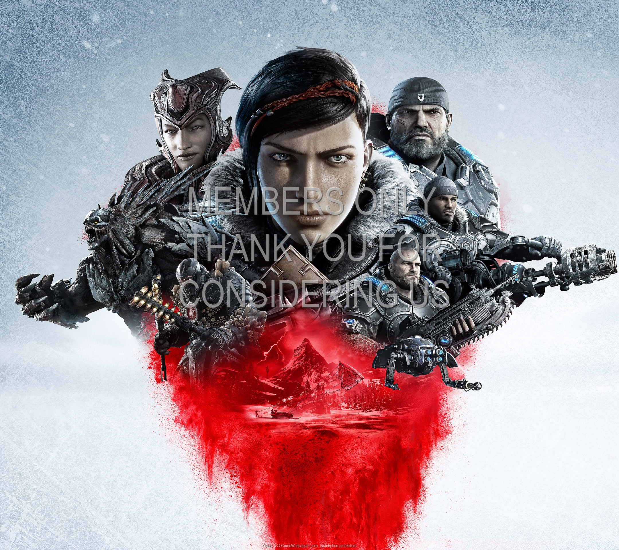 Gears 5 1920x1080 Mobile wallpaper or background 01