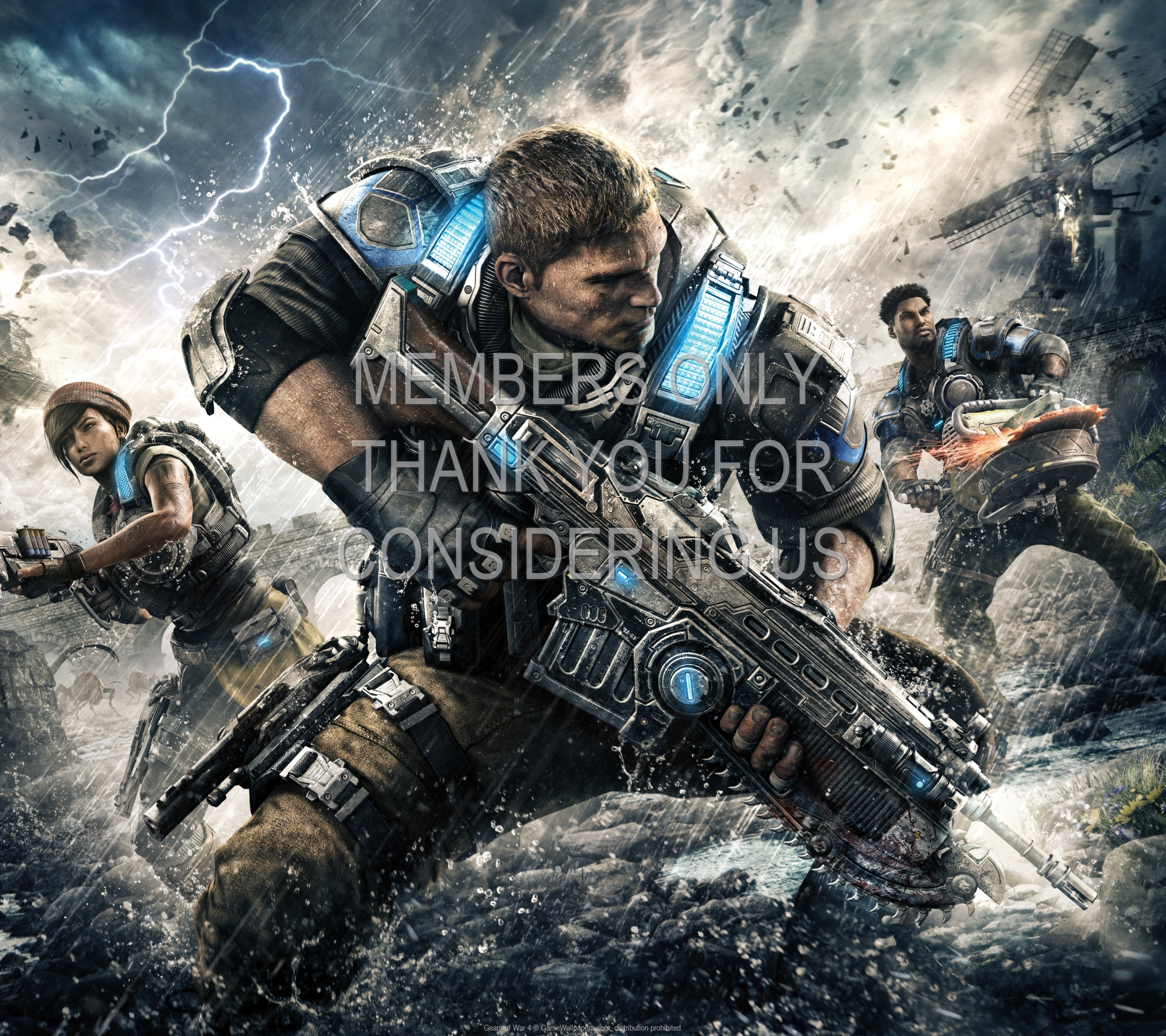 Gears of War 4 1920x1080 Mobile wallpaper or background 02