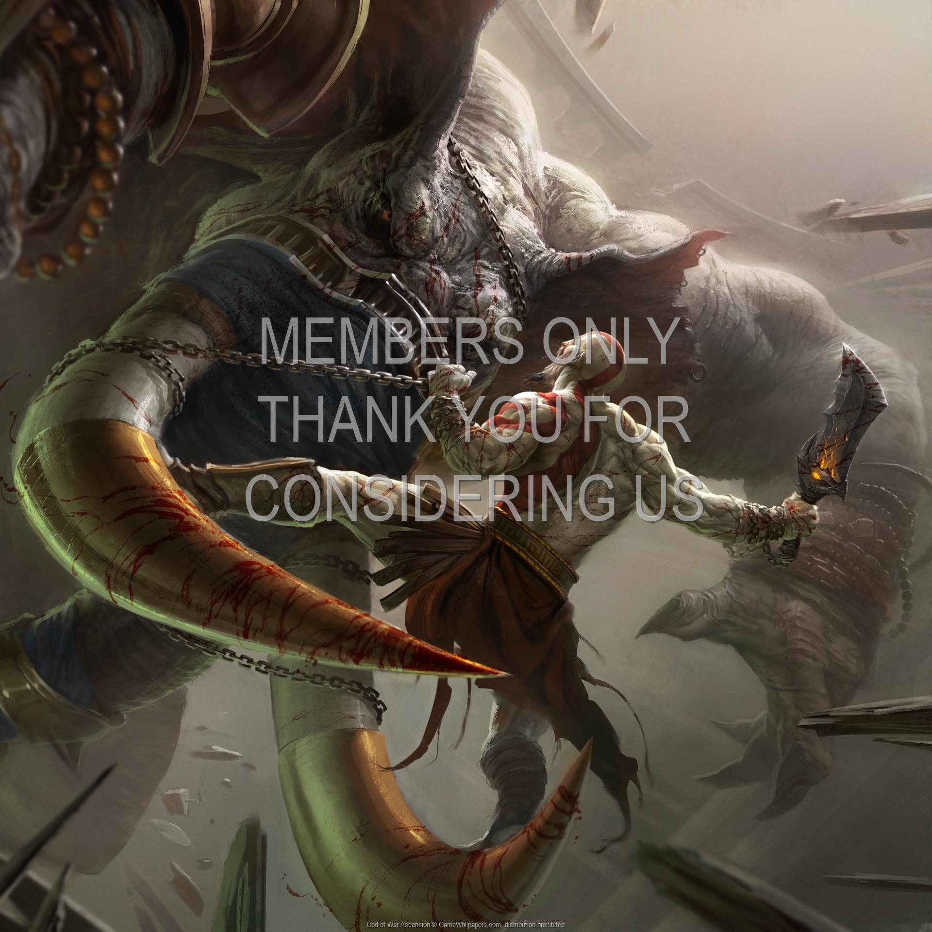 God of War: Ascension 1920x1080 Handy Hintergrundbild 03
