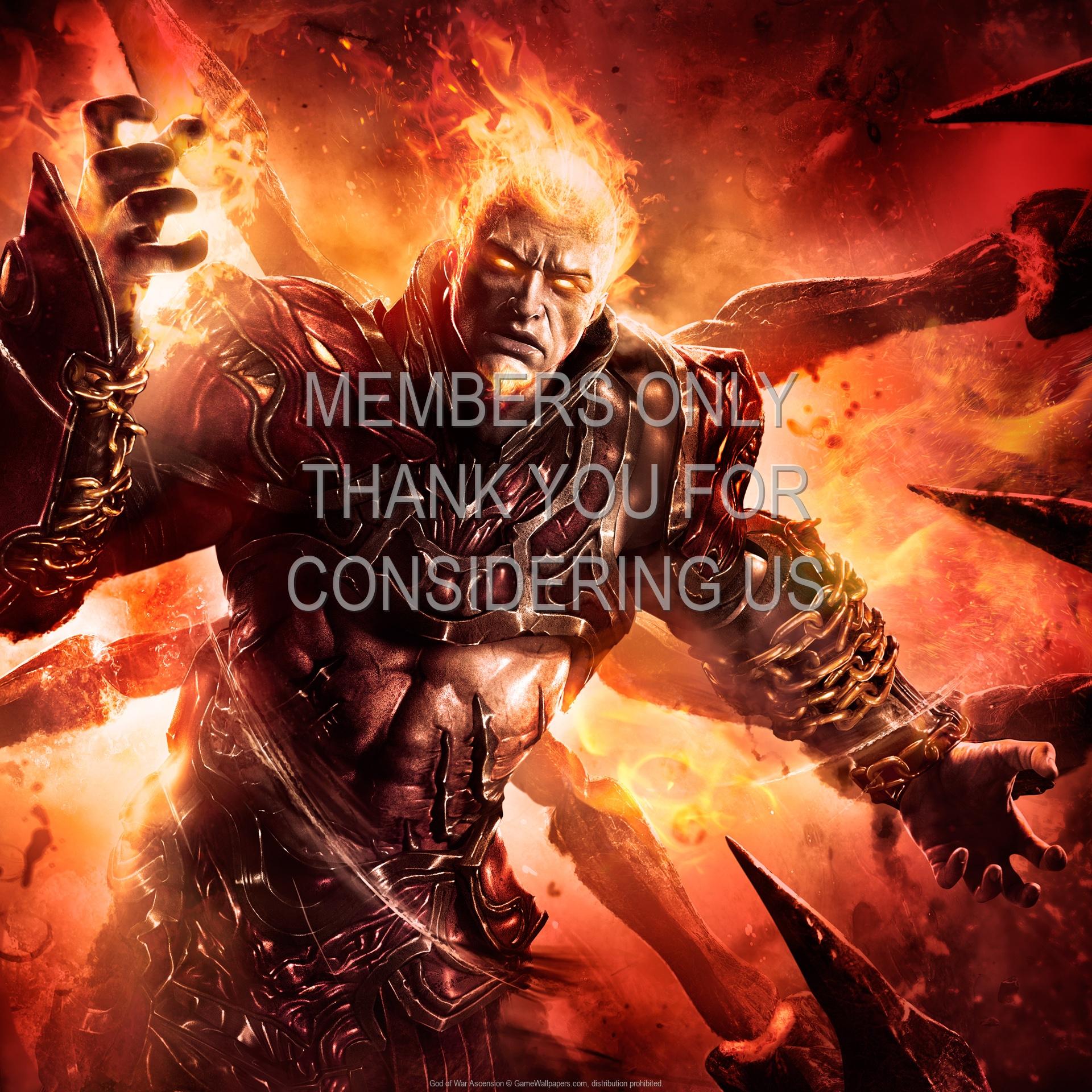 God of War: Ascension 1920x1080 Handy Hintergrundbild 05