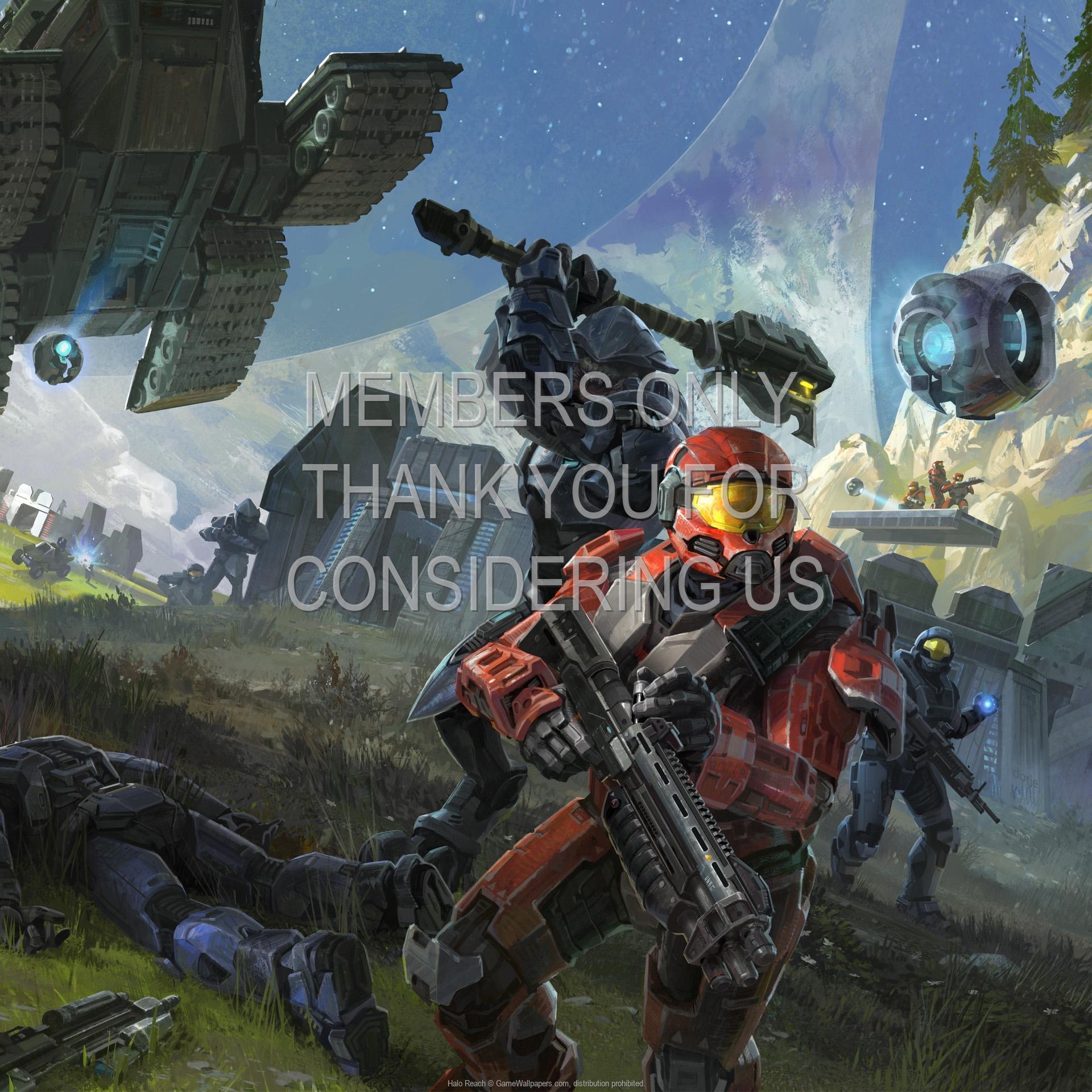 Halo: Reach 1920x1080 Handy Hintergrundbild 05
