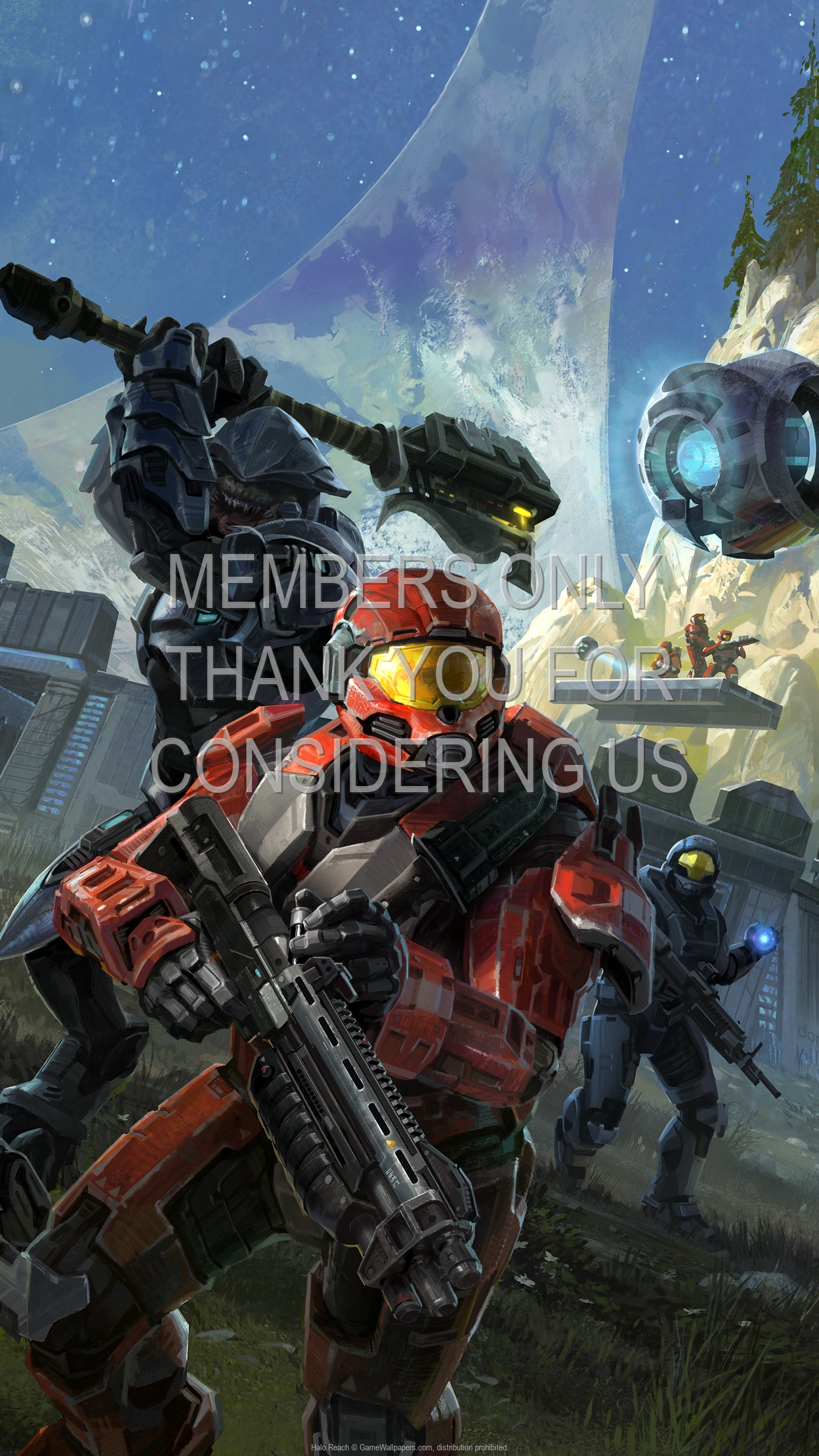 Halo: Reach 1920x1080 Handy Hintergrundbild 08