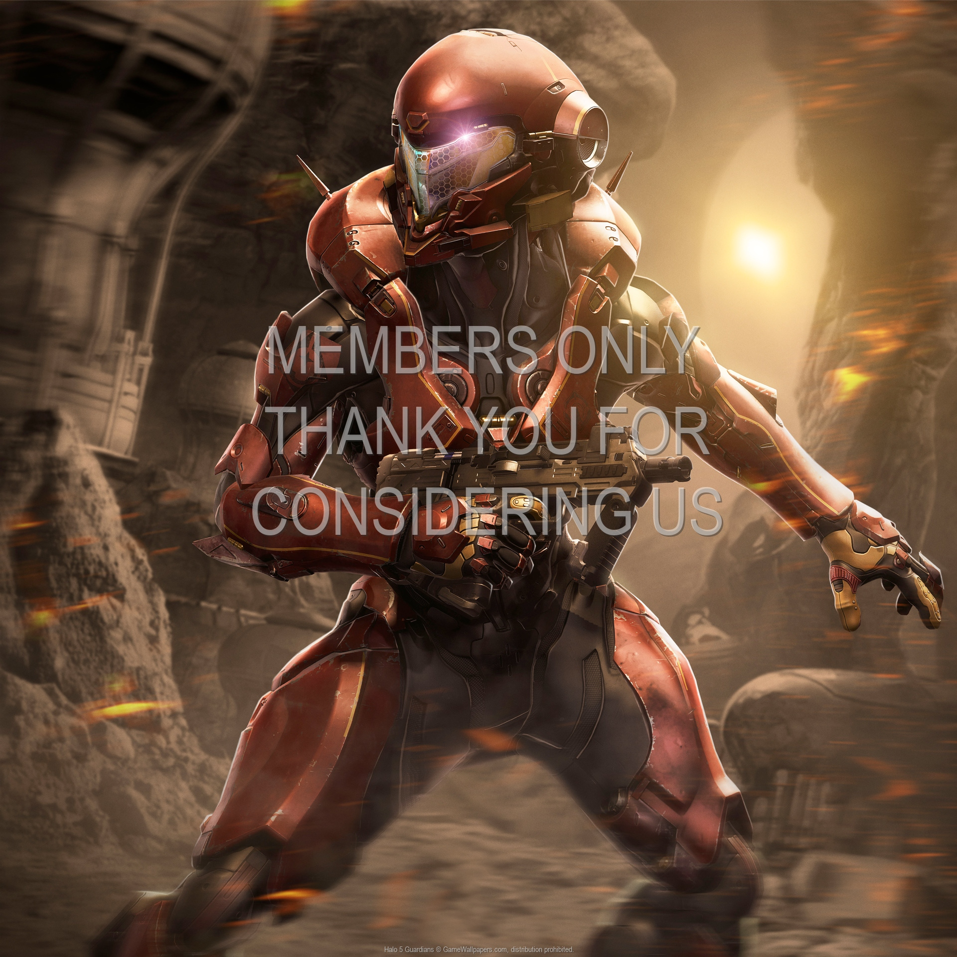 Halo 5: Guardians 1920x1080 Handy Hintergrundbild 03