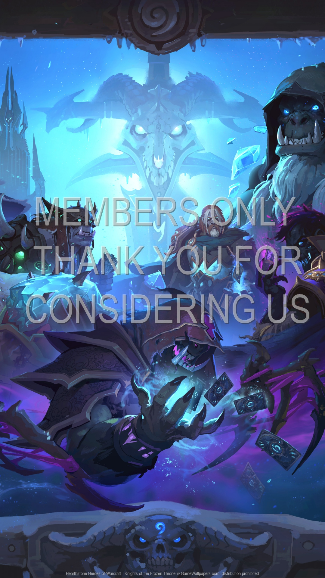 Hearthstone Heroes Of Warcraft Knights Of The Frozen Throne