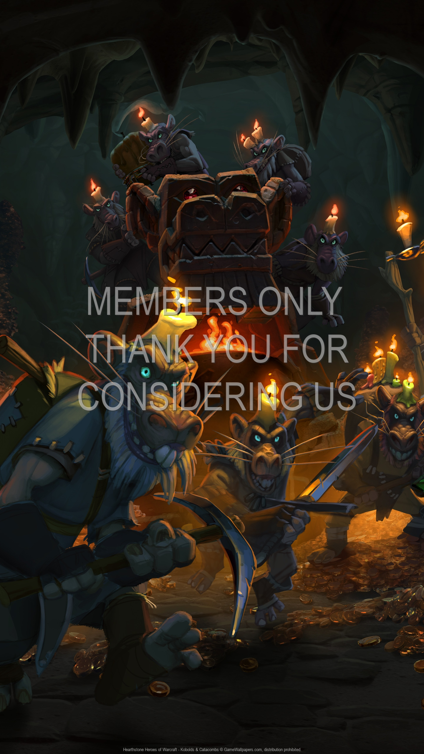 Hearthstone: Heroes of Warcraft - Kobolds & Catacombs 1920x1080 Mobile wallpaper or background 02