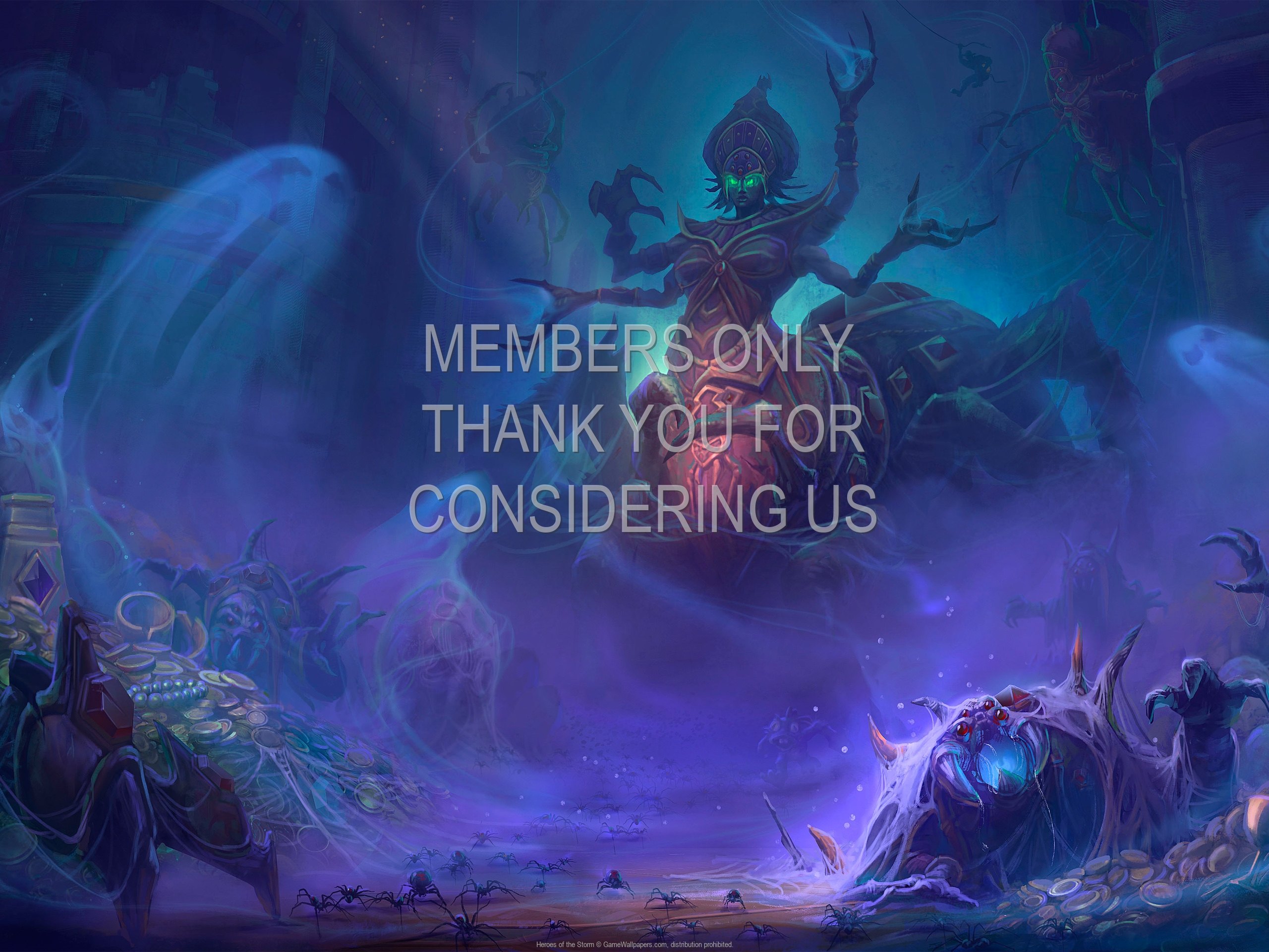 Heroes of the Storm 1920x1080 Mobiele achtergrond 02