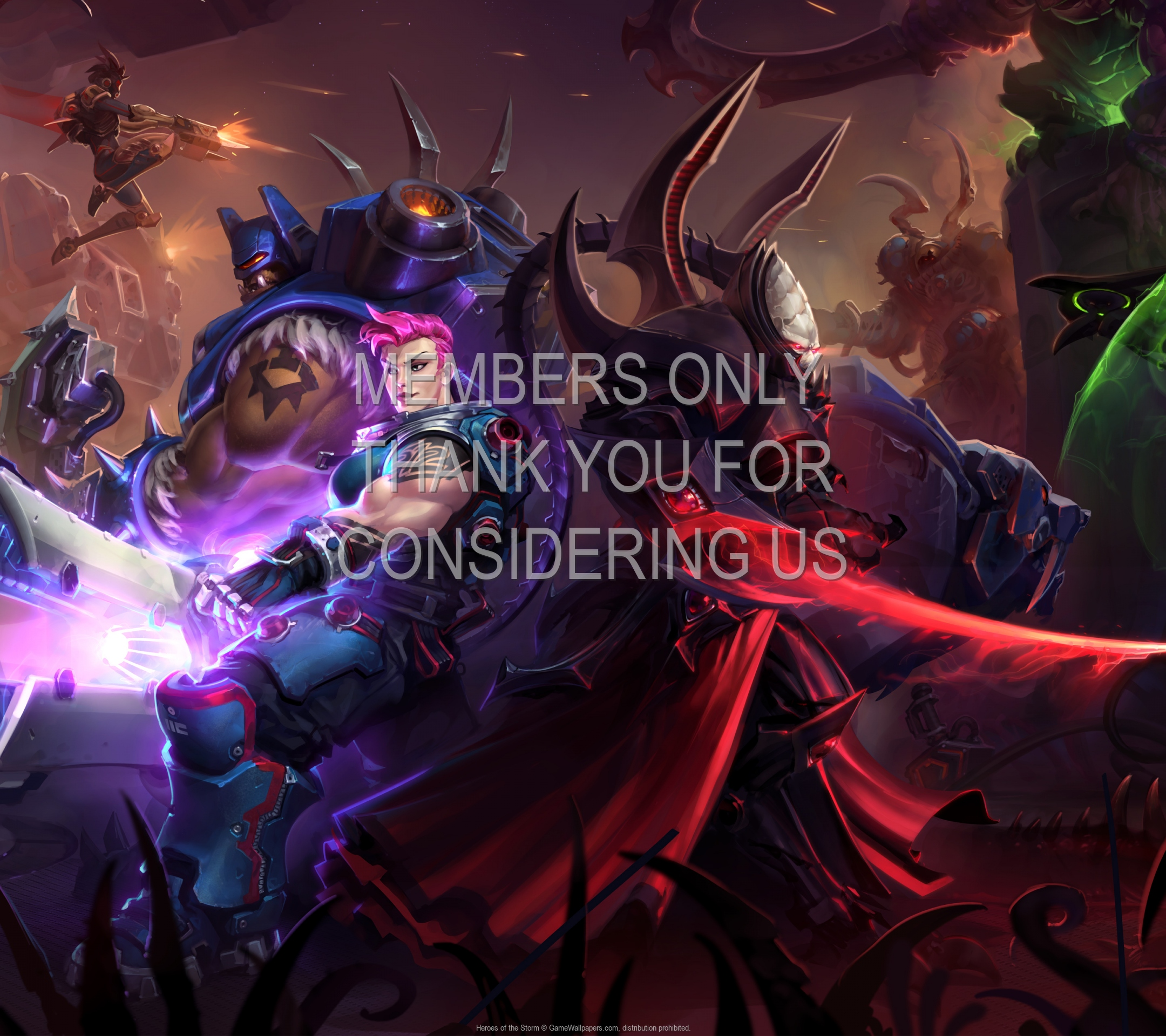 Heroes of the Storm 1920x1080 Mobiele achtergrond 09