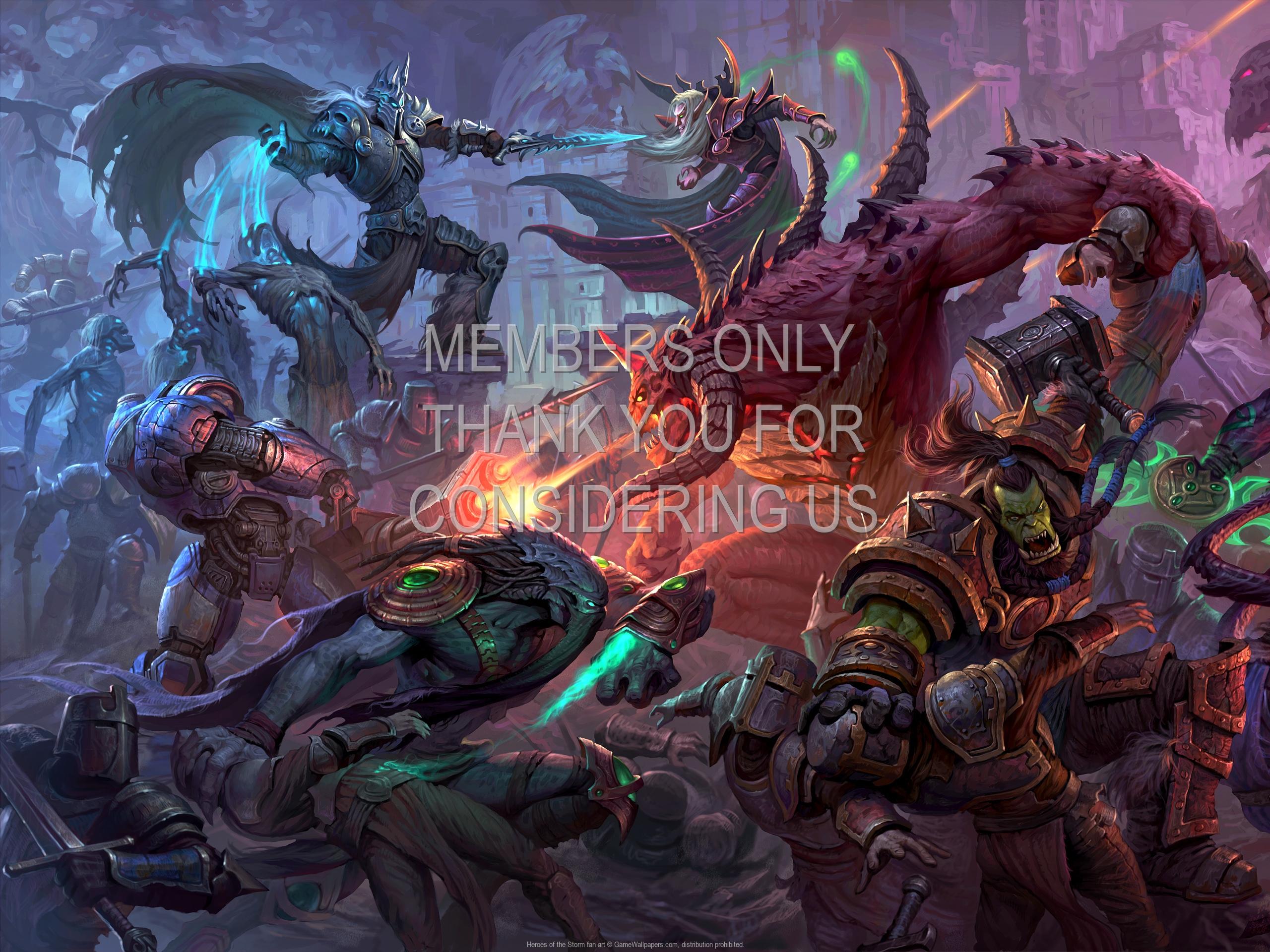 Heroes Of The Storm Wallpaper 1080p: Heroes Of The Storm Fan Art Wallpaper 04 1920x1080