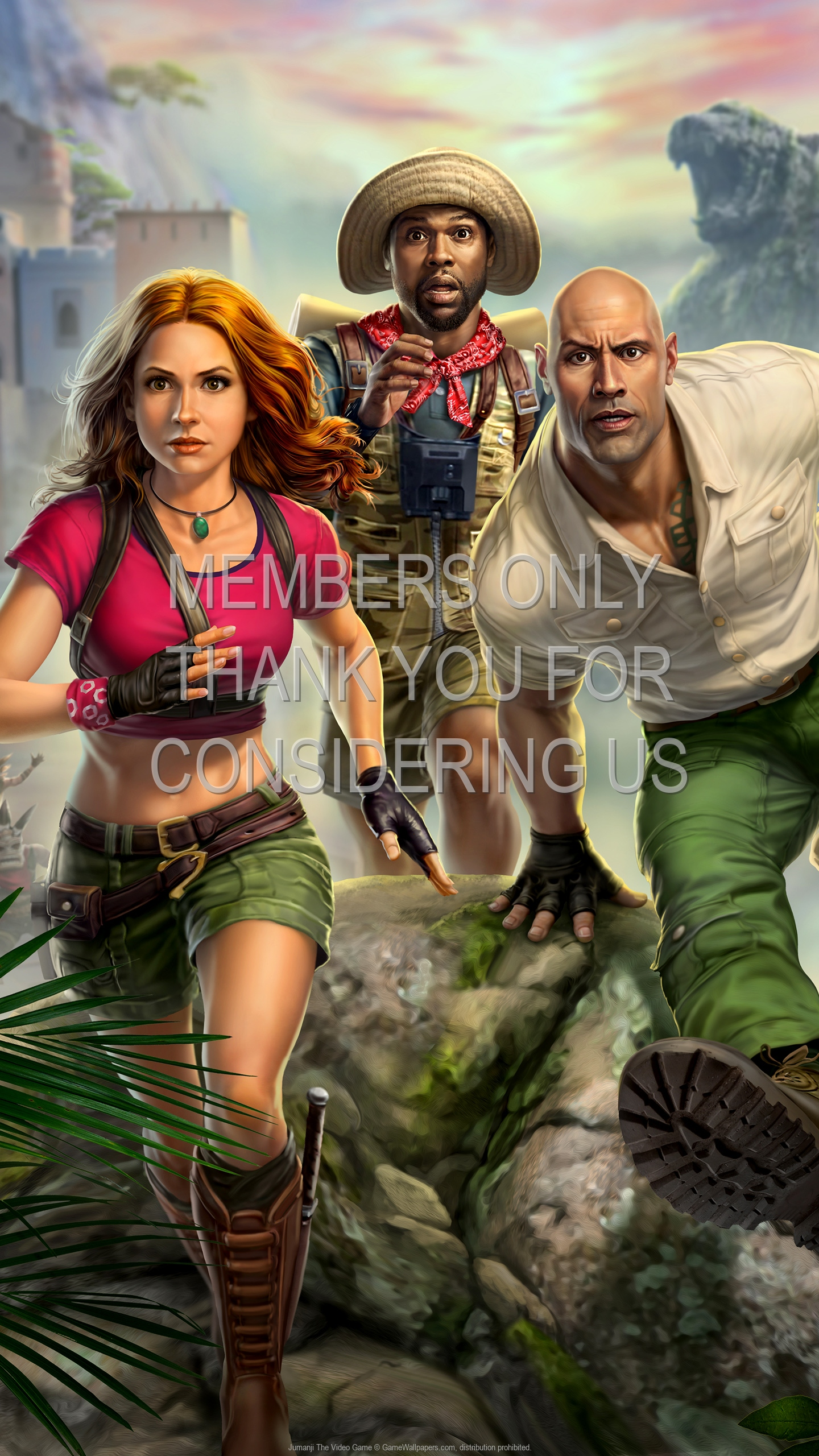 Jumanji: The Video Game 1920x1080 Mobile wallpaper or background 01
