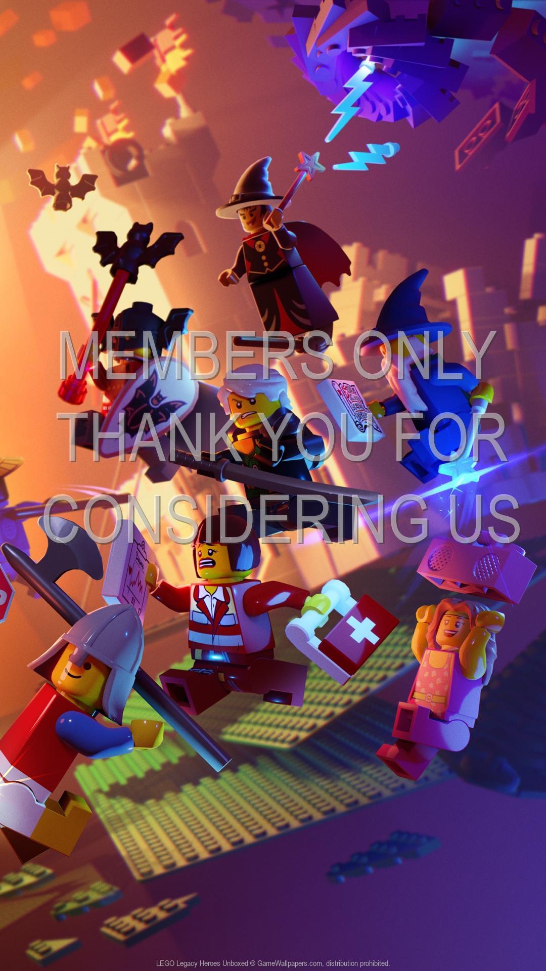 LEGO Legacy: Heroes Unboxed 1920x1080 Móvil fondo de escritorio 01