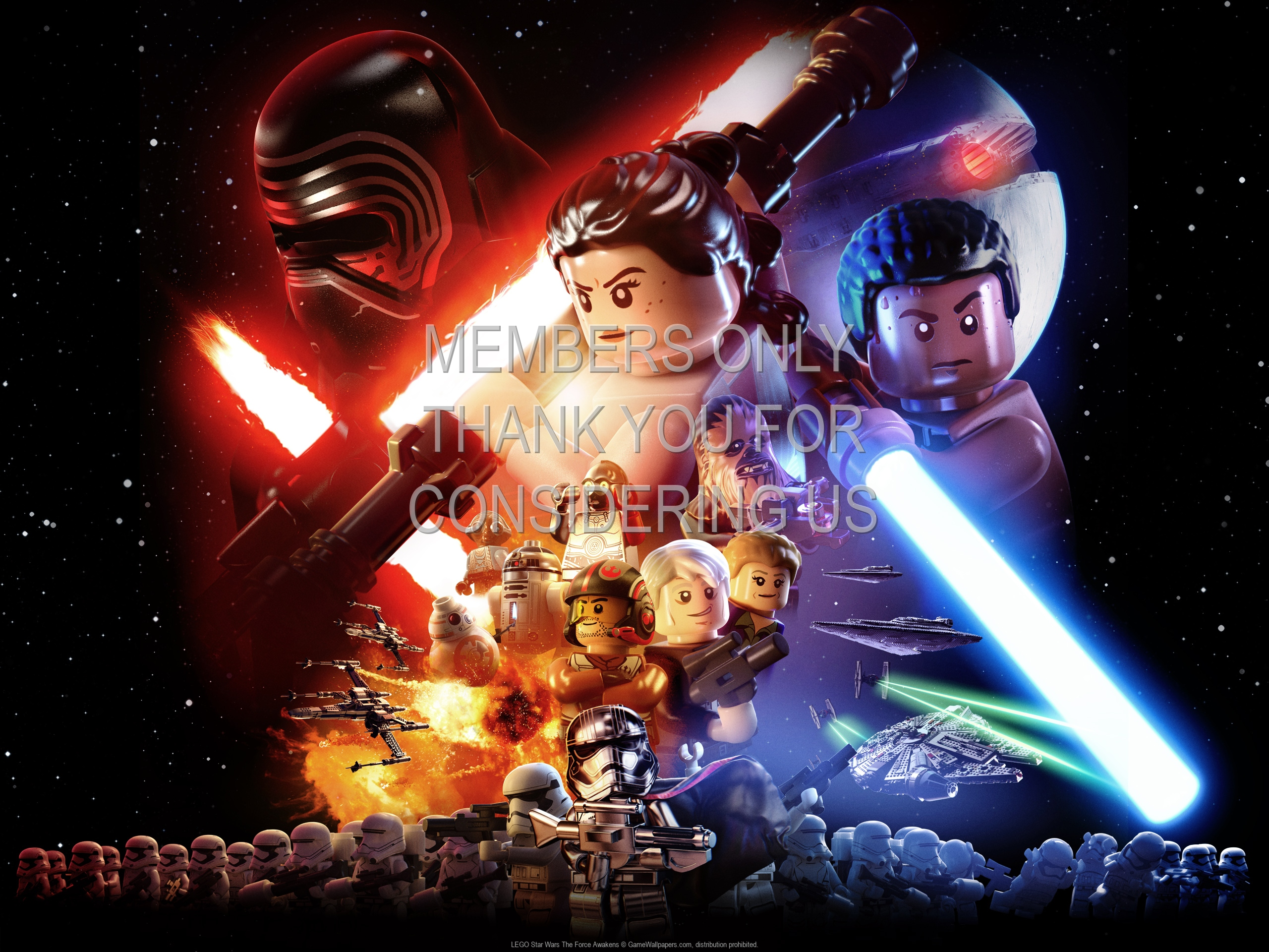 Lego Star Wars The Force Awakens Wallpaper 01 1920x1080