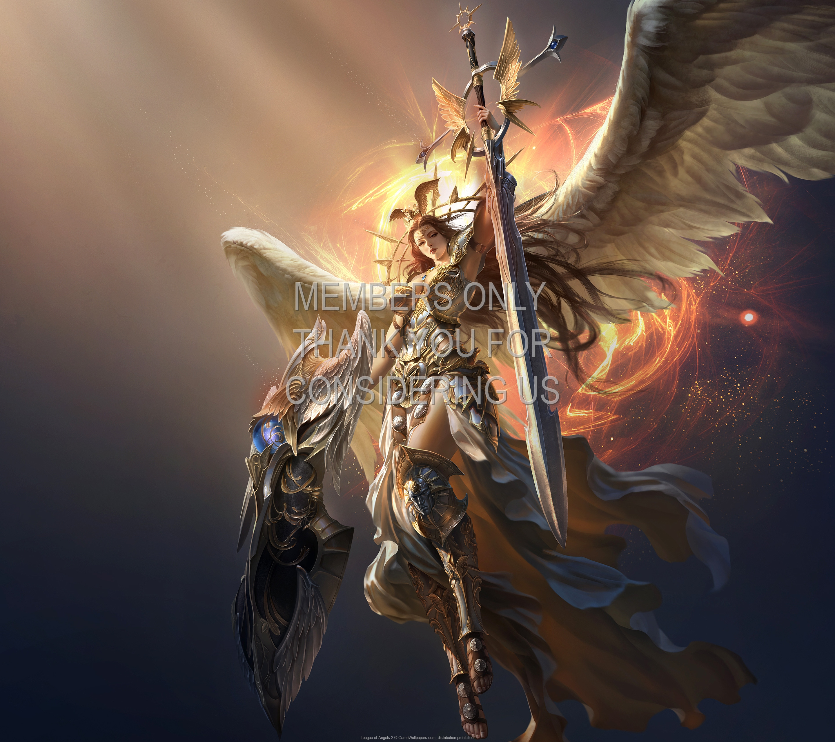 League of Angels 2 1920x1080 Mobile wallpaper or background 03