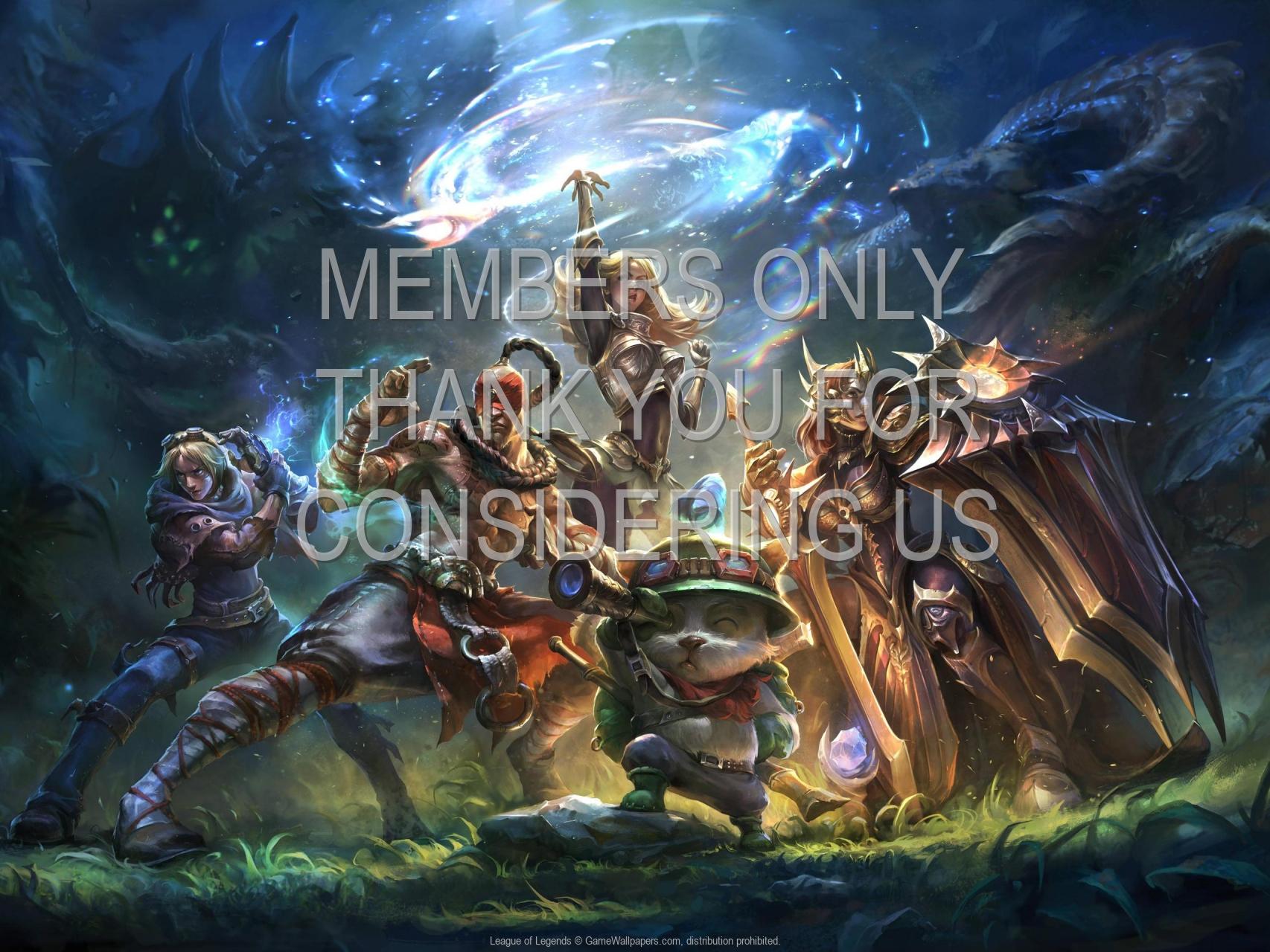 League of Legends 1920x1080 Mobiele achtergrond 20