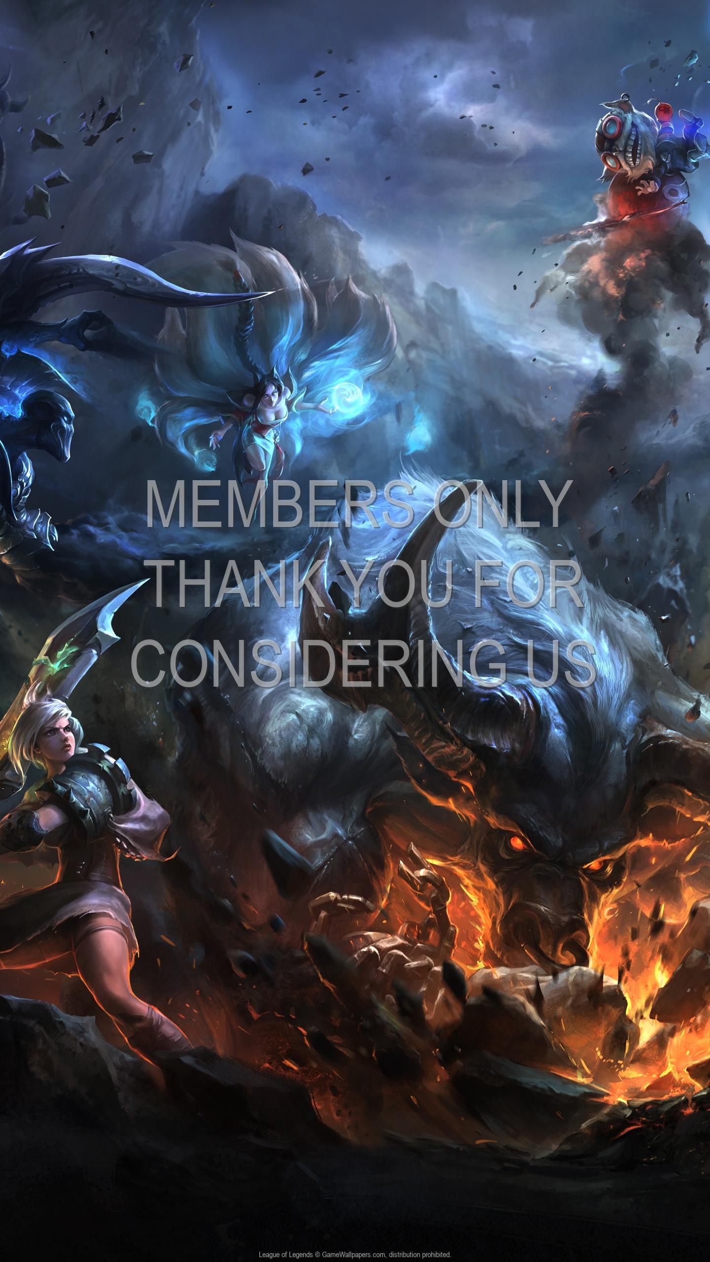 League of Legends 1920x1080 Mobiele achtergrond 53