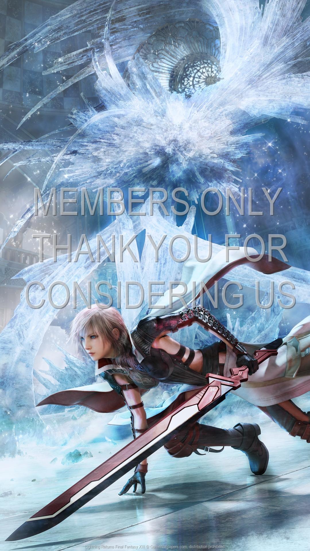 Lightning Returns Final Fantasy XIII 1920x1080 Mobile Wallpaper Or Background 02