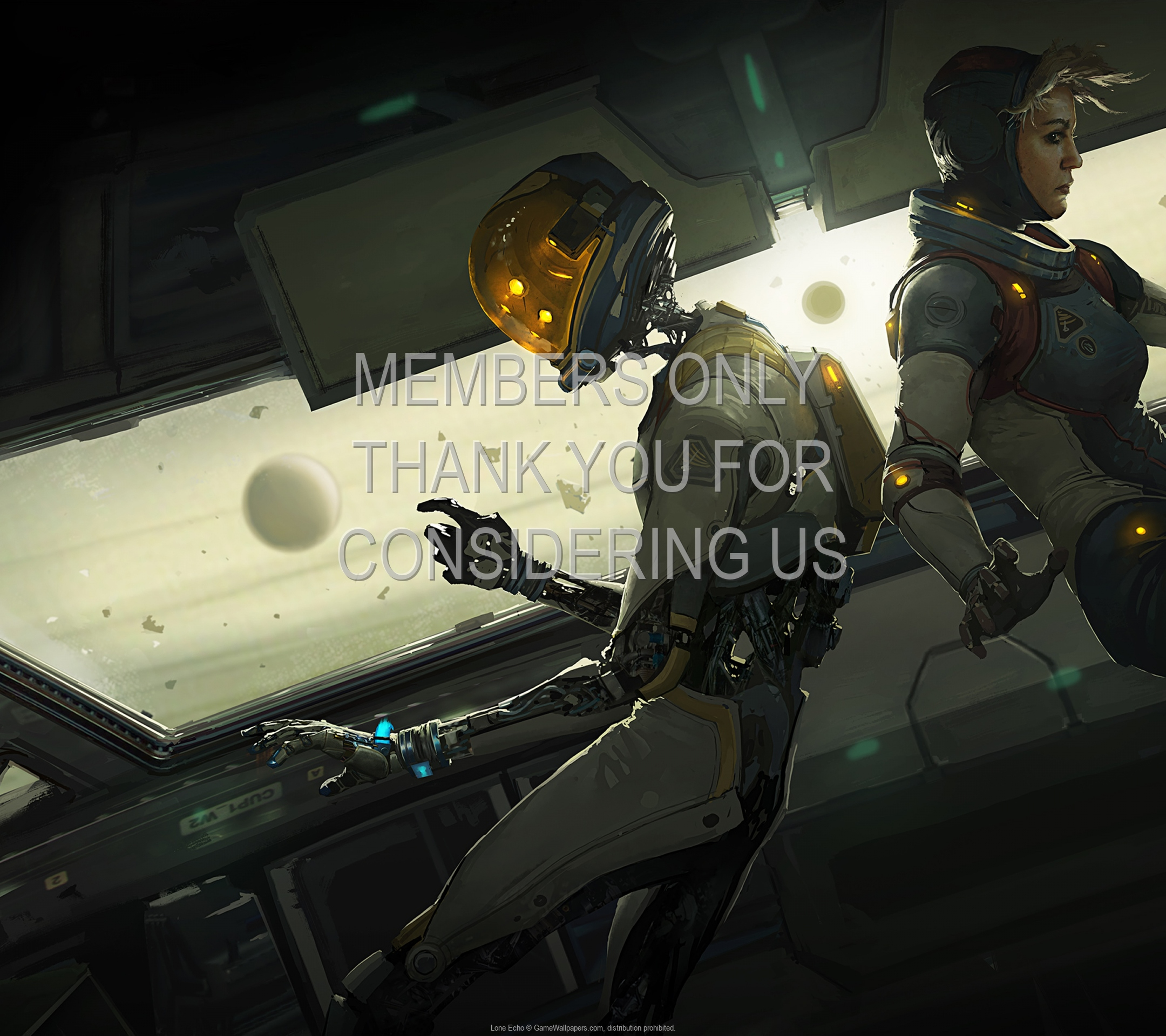 Lone Echo 1920x1080 Mobile wallpaper or background 01