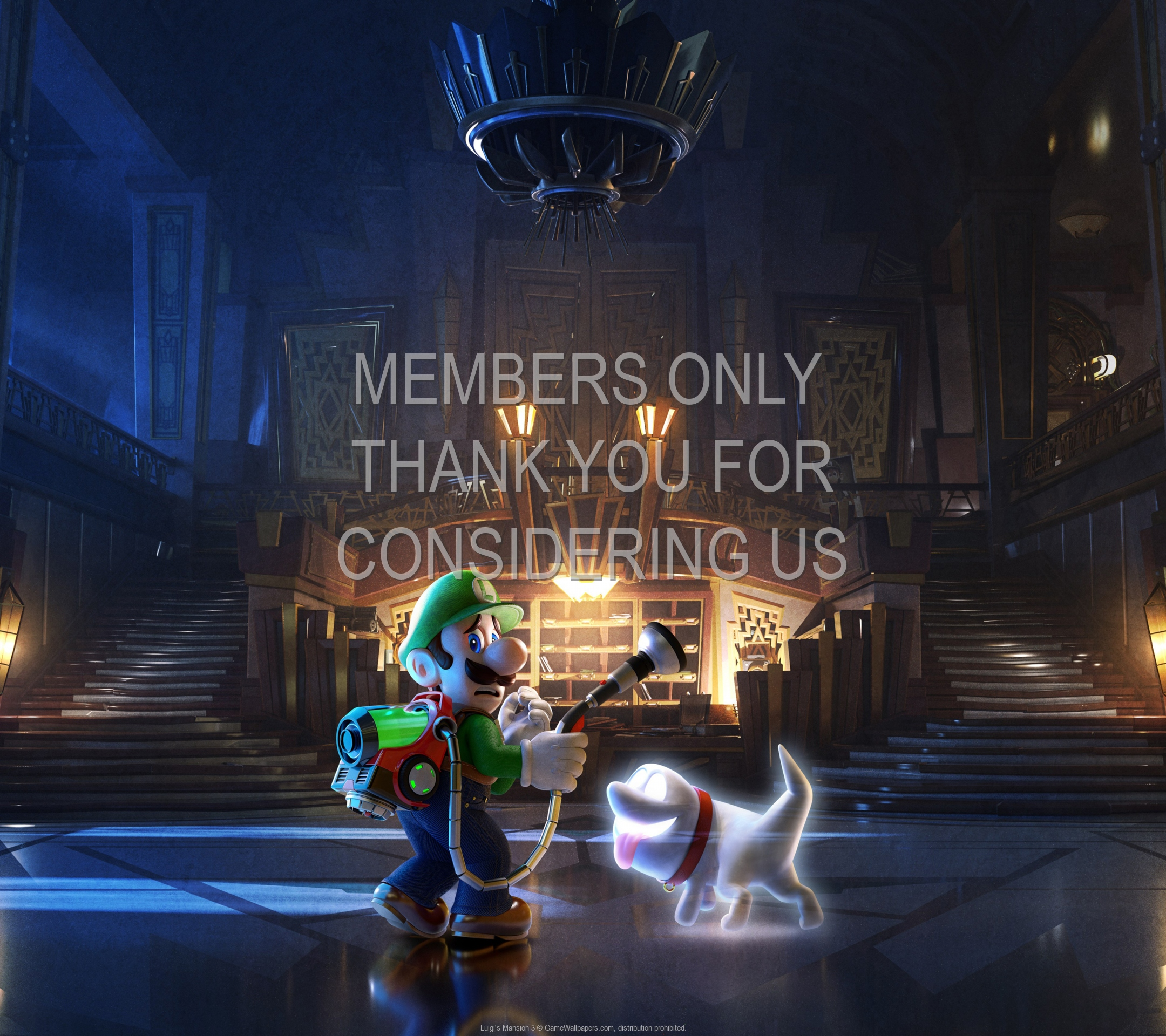 Luigi's Mansion 3 1920x1080 Handy Hintergrundbild 02