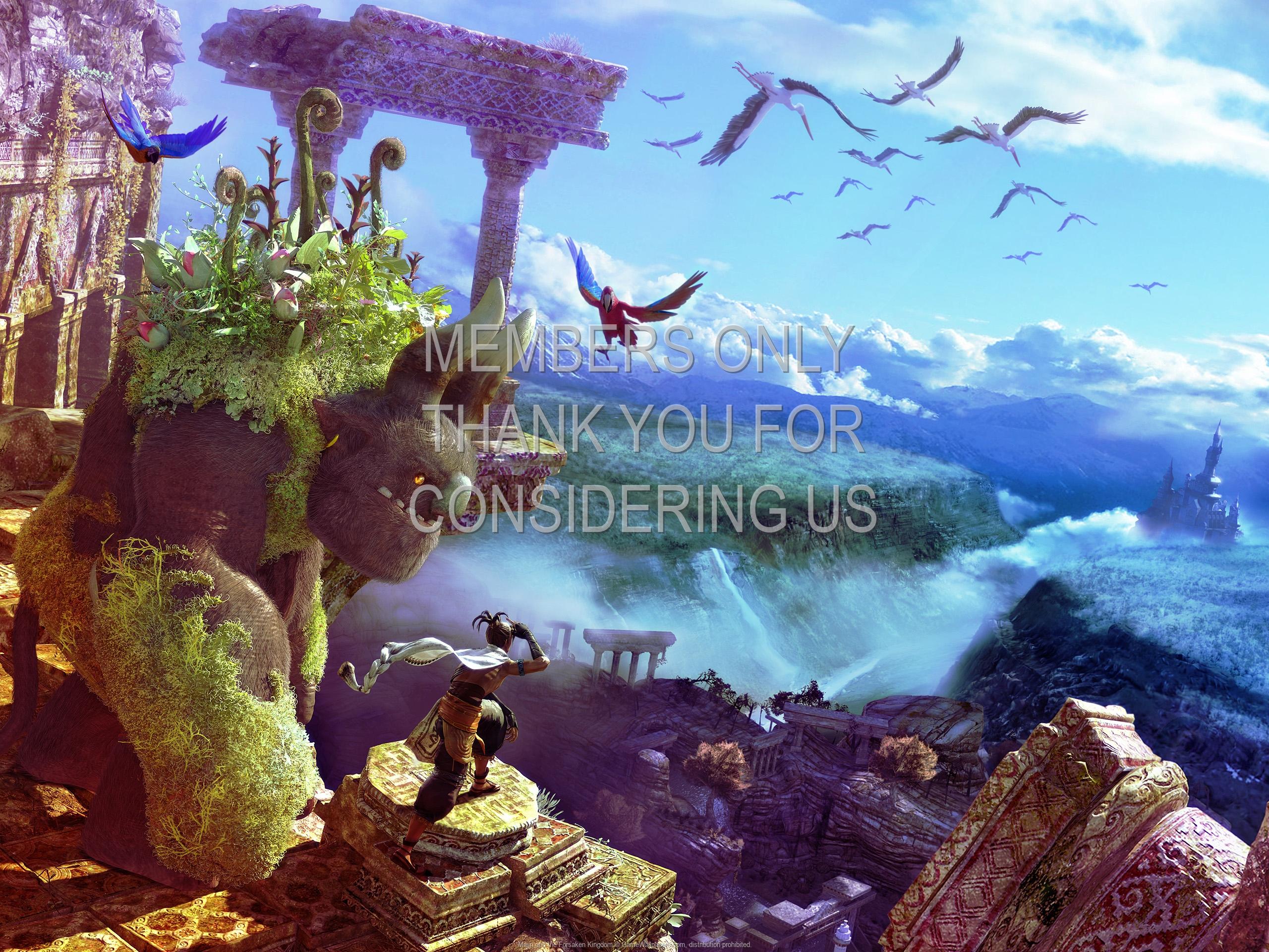 Majin and the Forsaken Kingdom 1920x1080 Handy Hintergrundbild 03