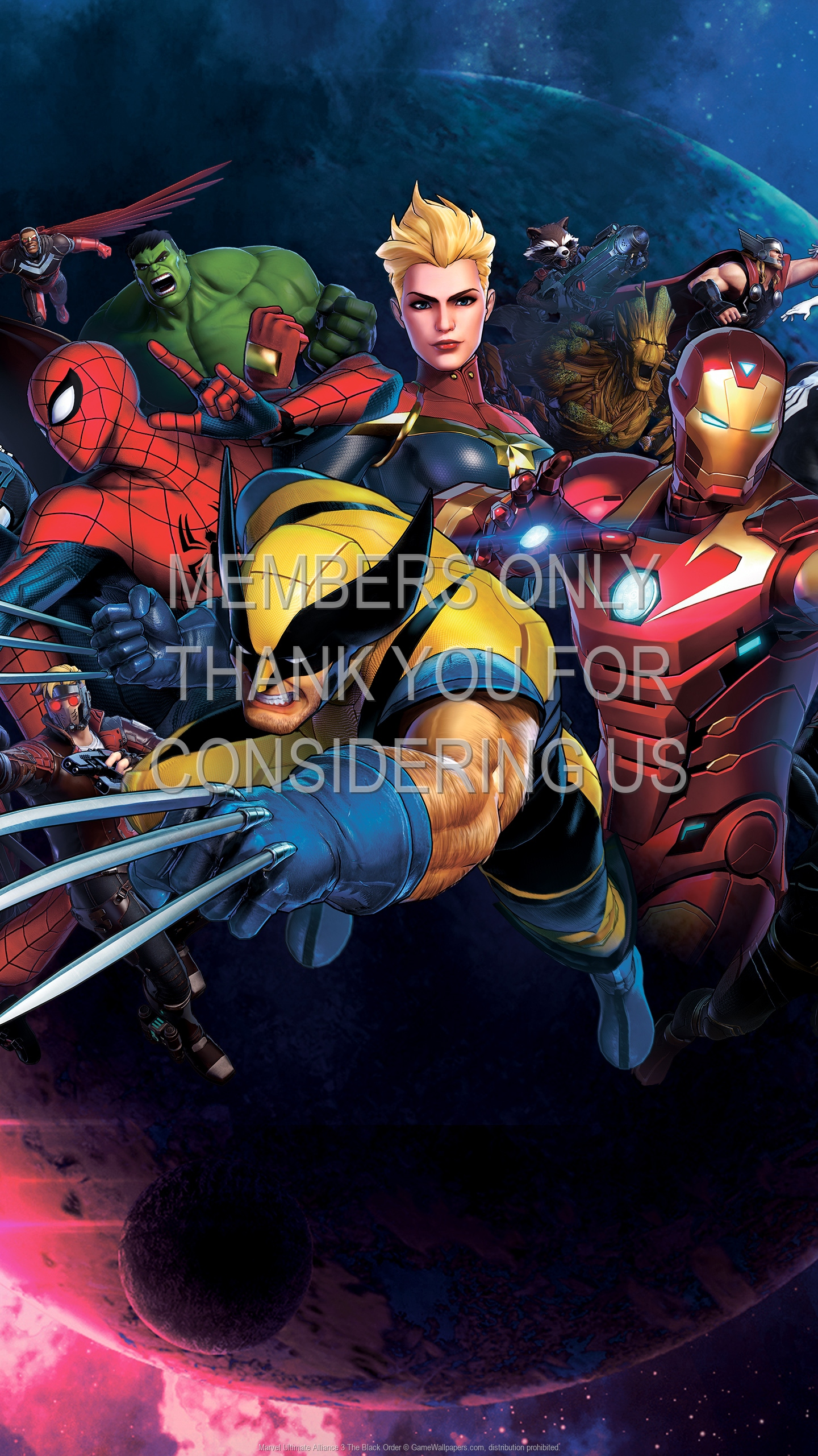 Marvel Ultimate Alliance 3: The Black Order 1920x1080 Mobiele achtergrond 01