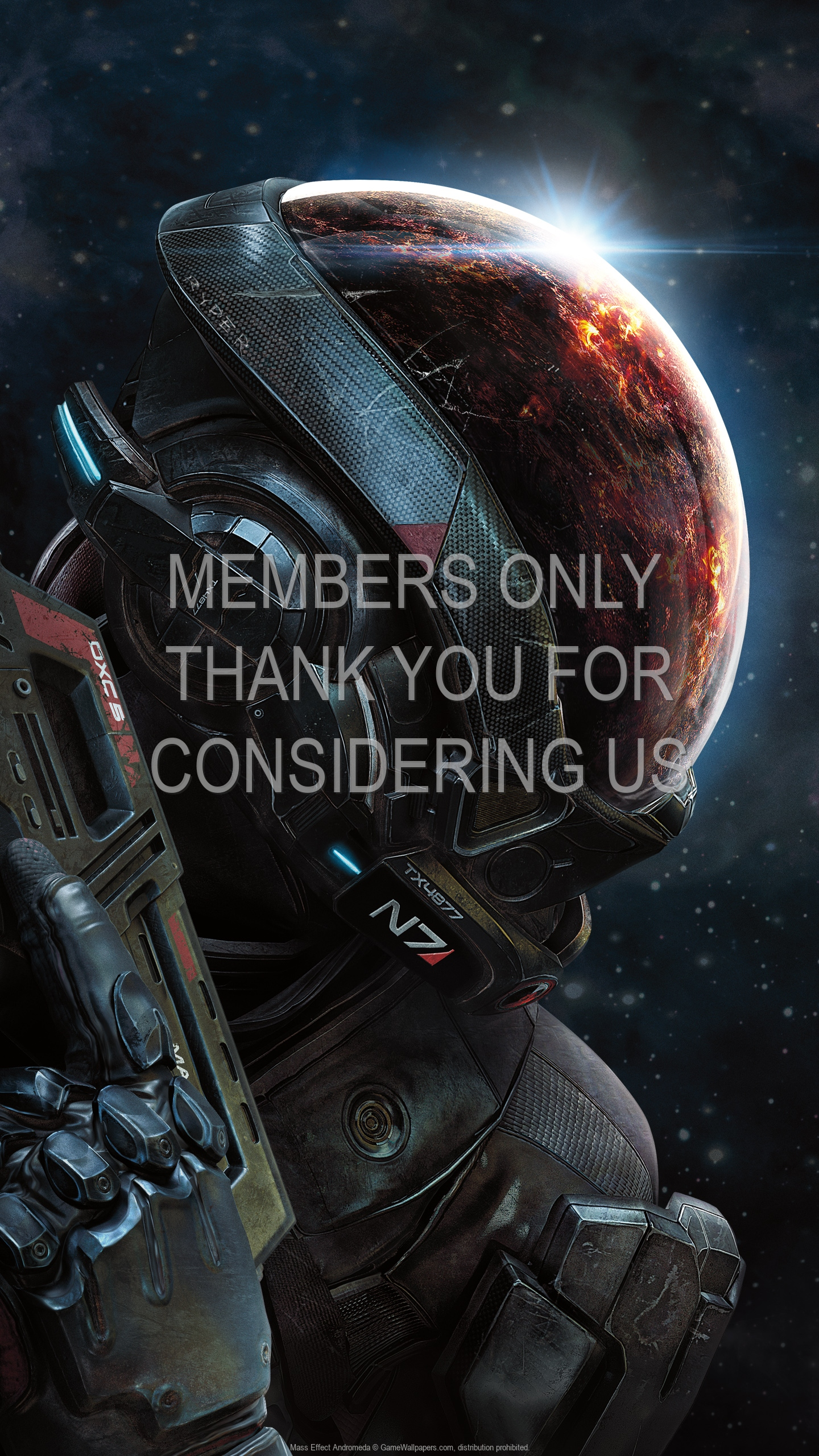 Mass Effect: Andromeda 1920x1080 Mobiele achtergrond 01