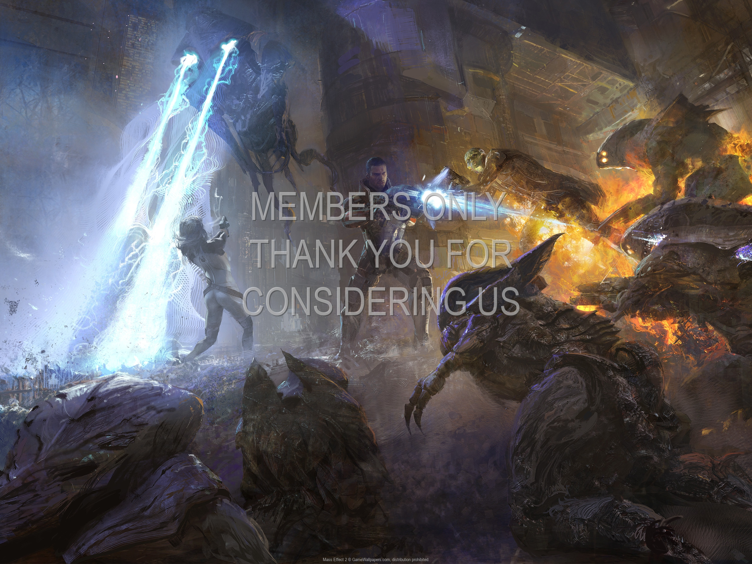Mass Effect 2 1920x1080 Mobiele achtergrond 07