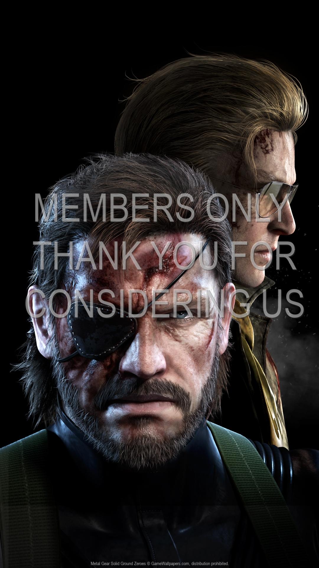 Metal Gear Solid: Ground Zeroes 1920x1080 Handy Hintergrundbild 01