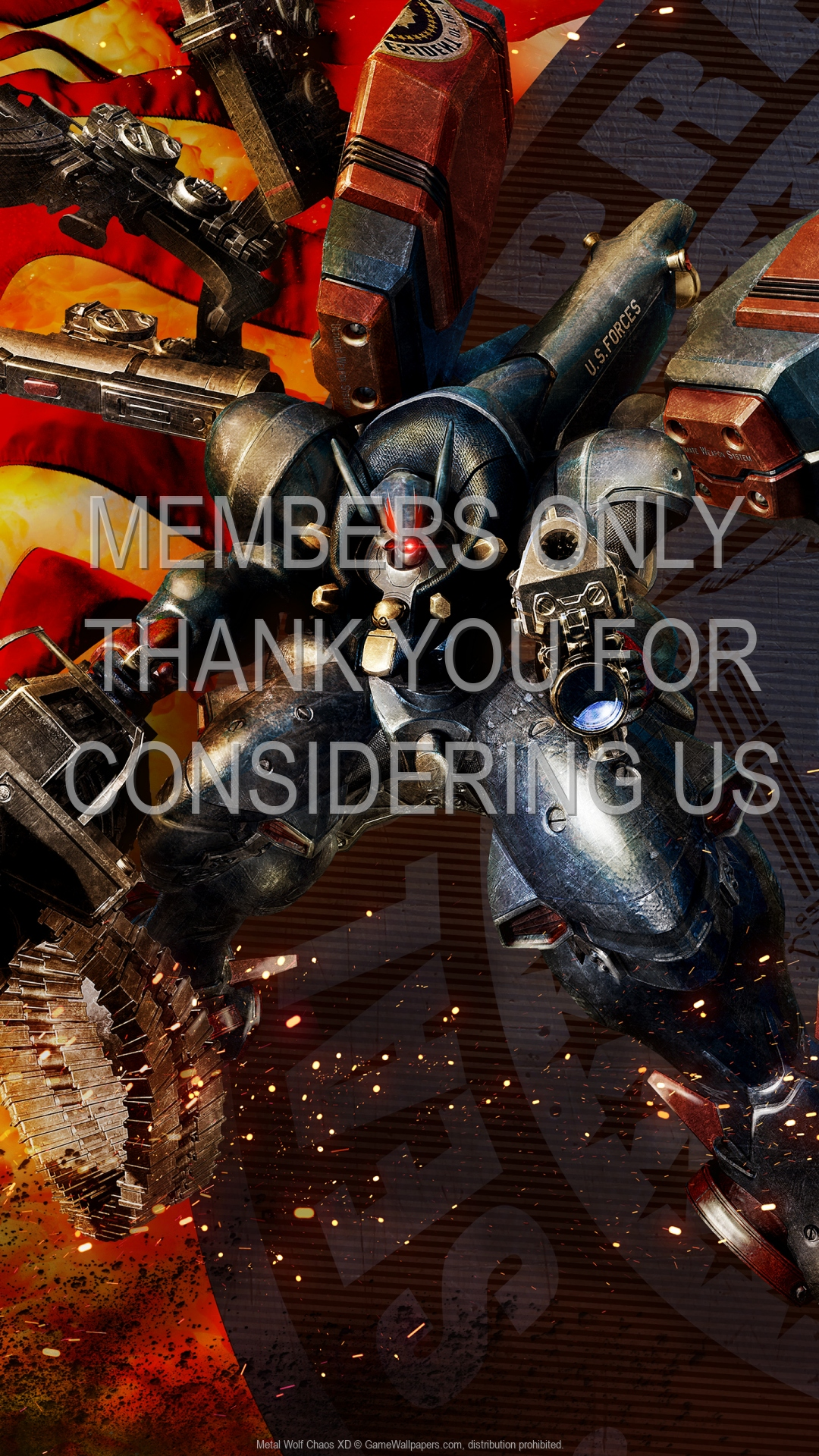 Metal Wolf Chaos XD 1920x1080 Mobile wallpaper or background 01