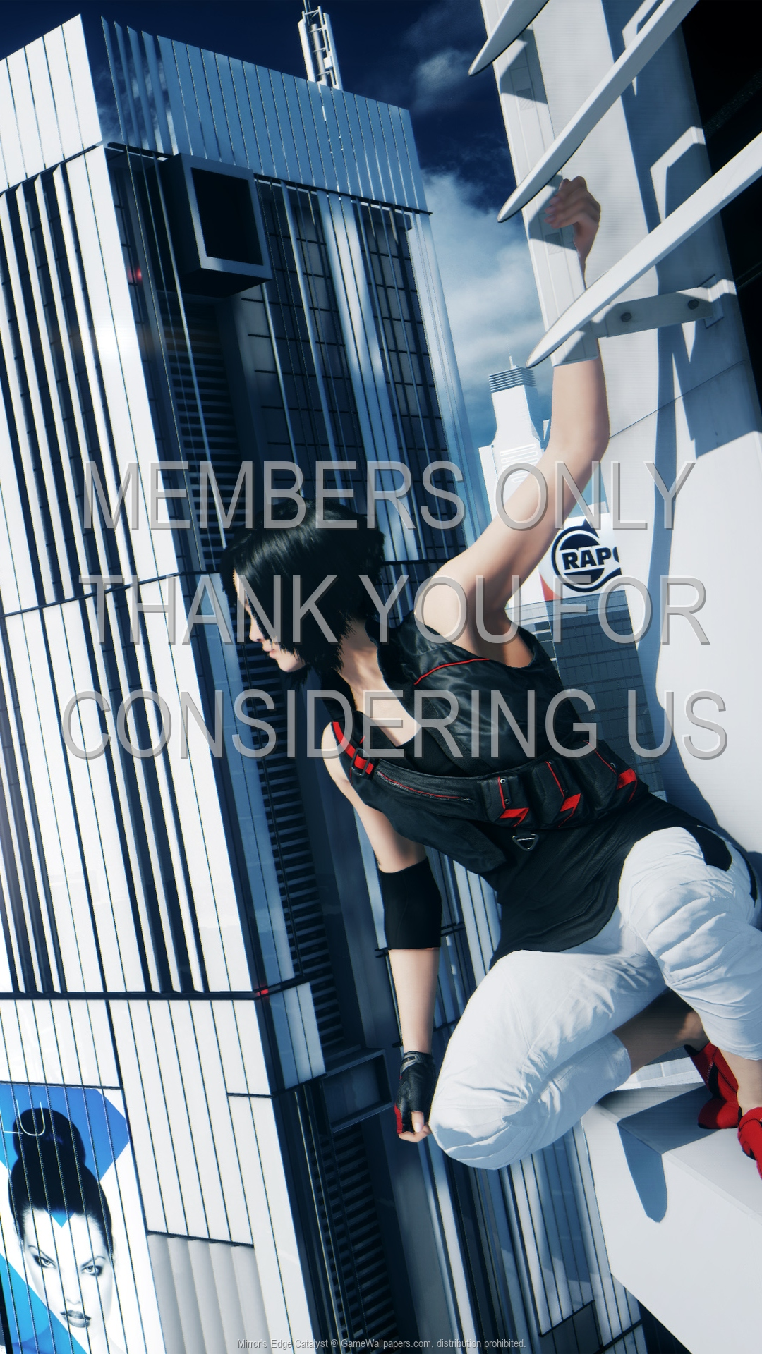 Mirror's Edge: Catalyst 1920x1080 Handy Hintergrundbild 01