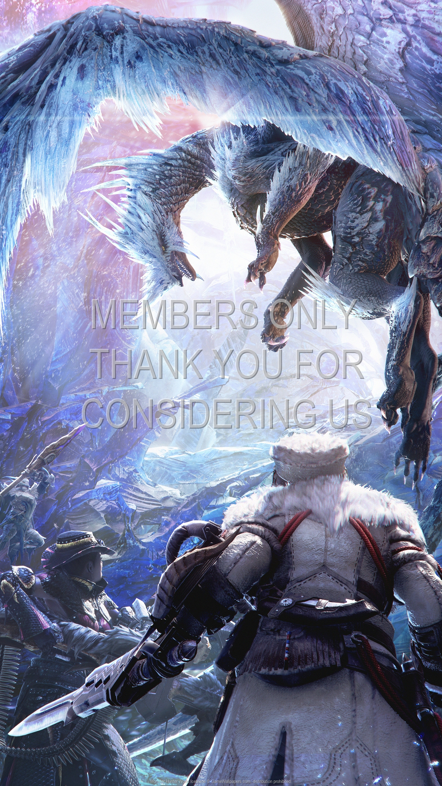 Monster Hunter World: Iceborne 1920x1080 Mobile wallpaper or background 01