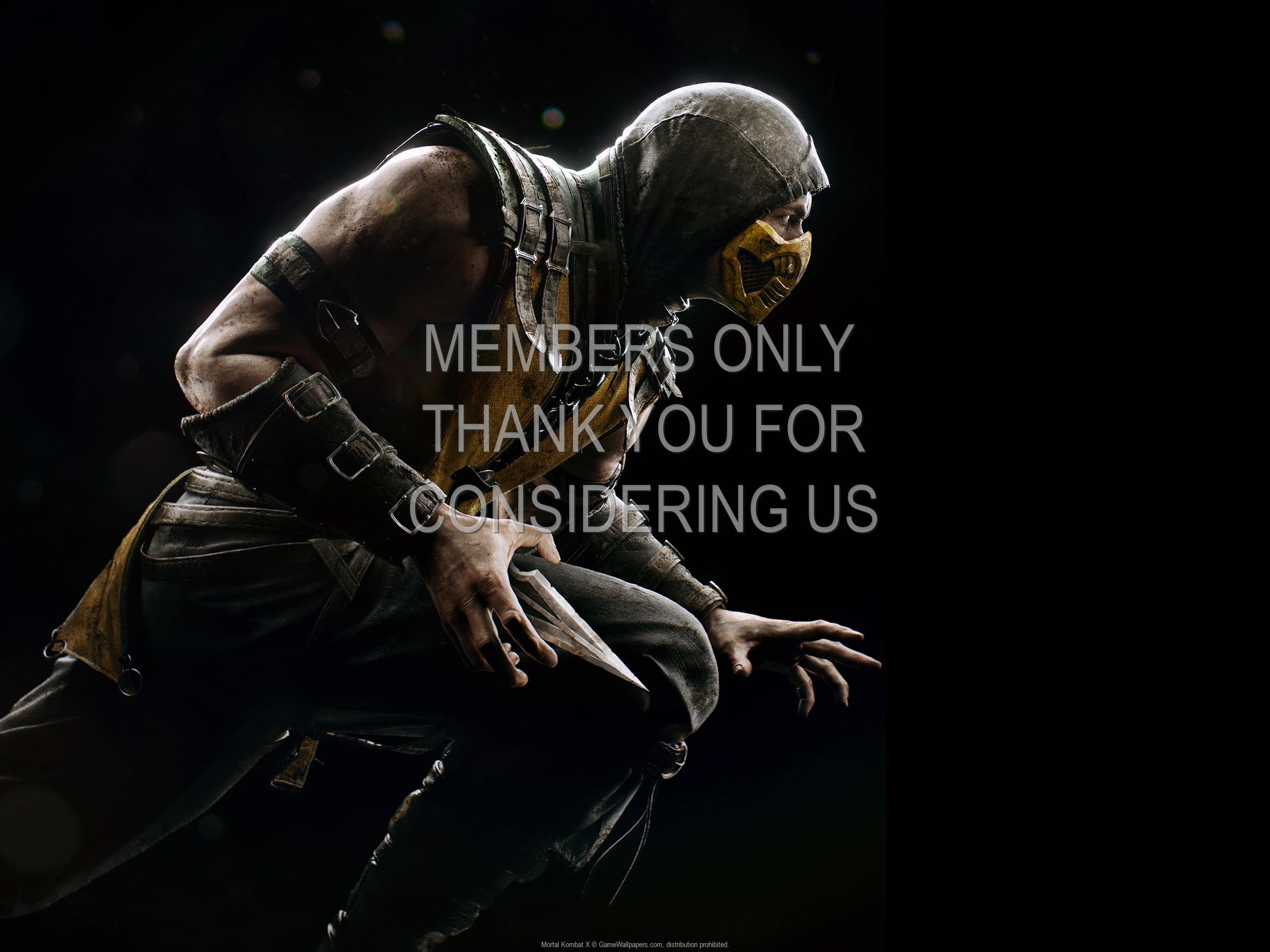 Mortal Kombat X 1920x1080 Handy Hintergrundbild 01