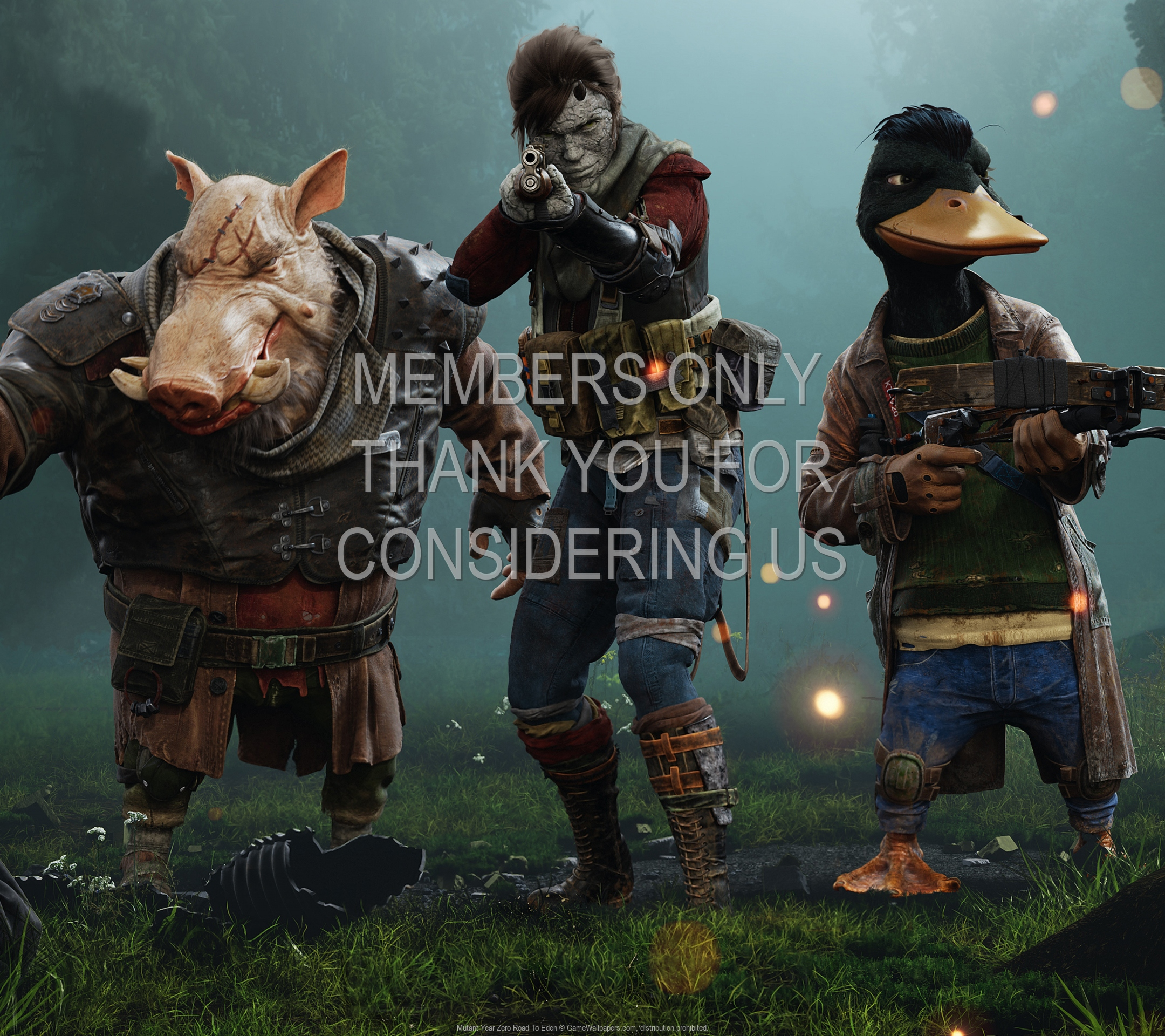 Mutant Year Zero: Road To Eden 1920x1080 Mobile wallpaper or background 01