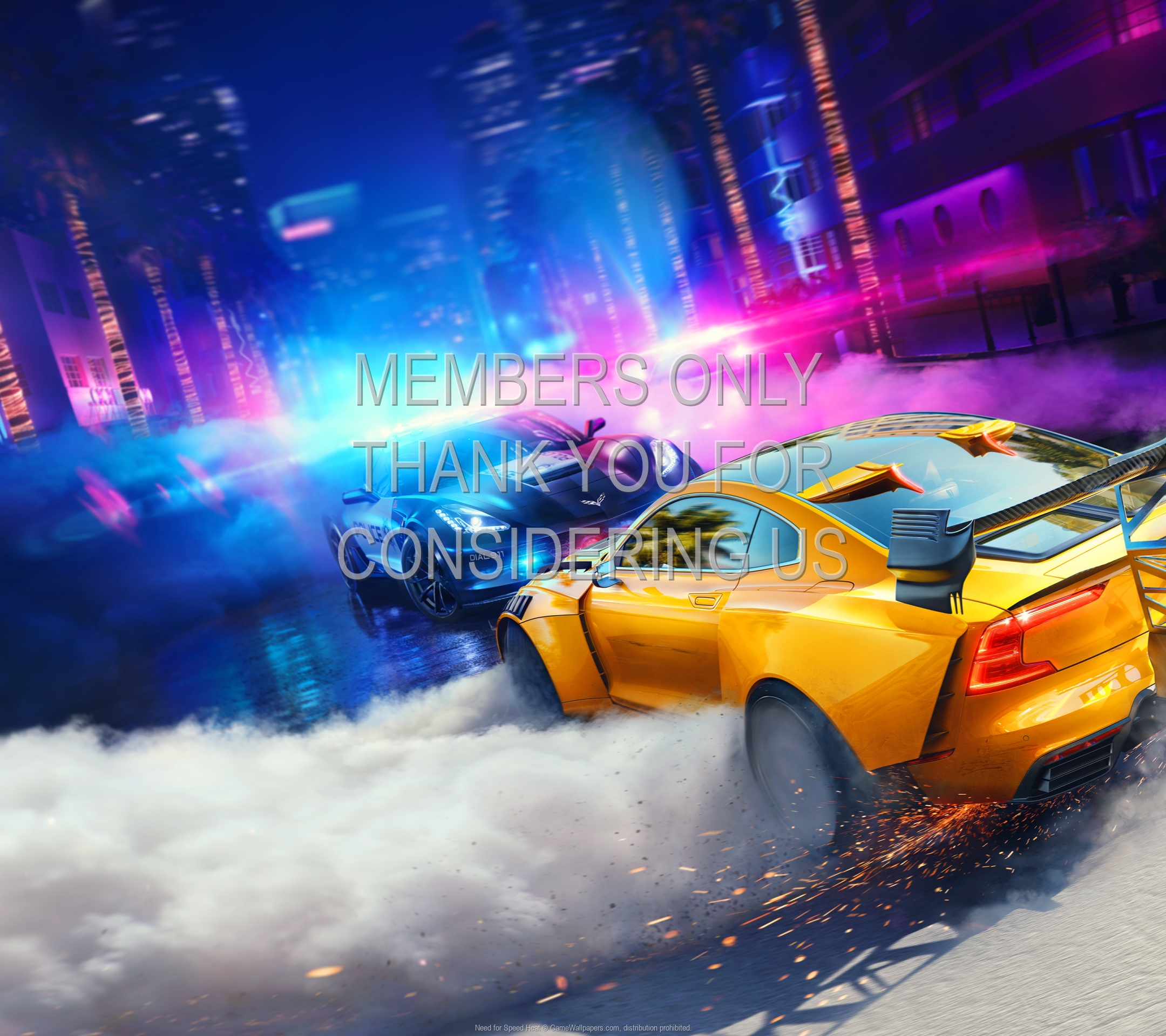 Need for Speed: Heat 1920x1080 Mobile fond d'écran 01